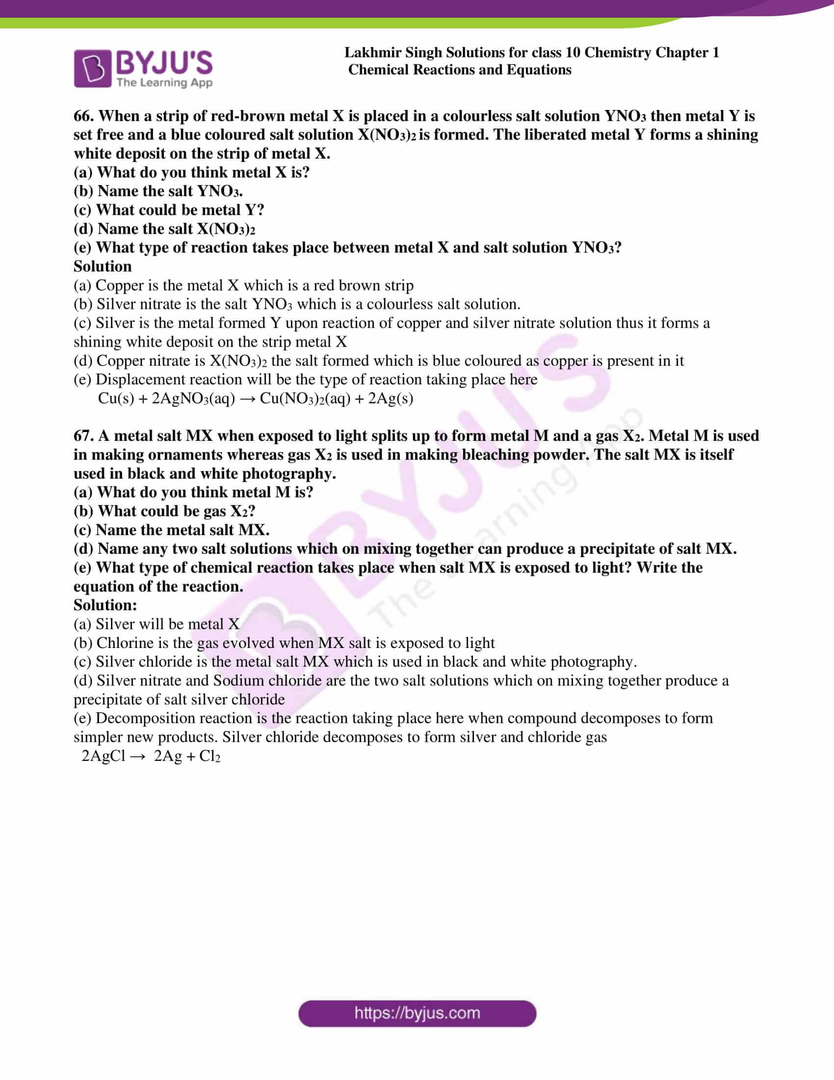 lakhmir singh sol class 10 che chapter 1 32