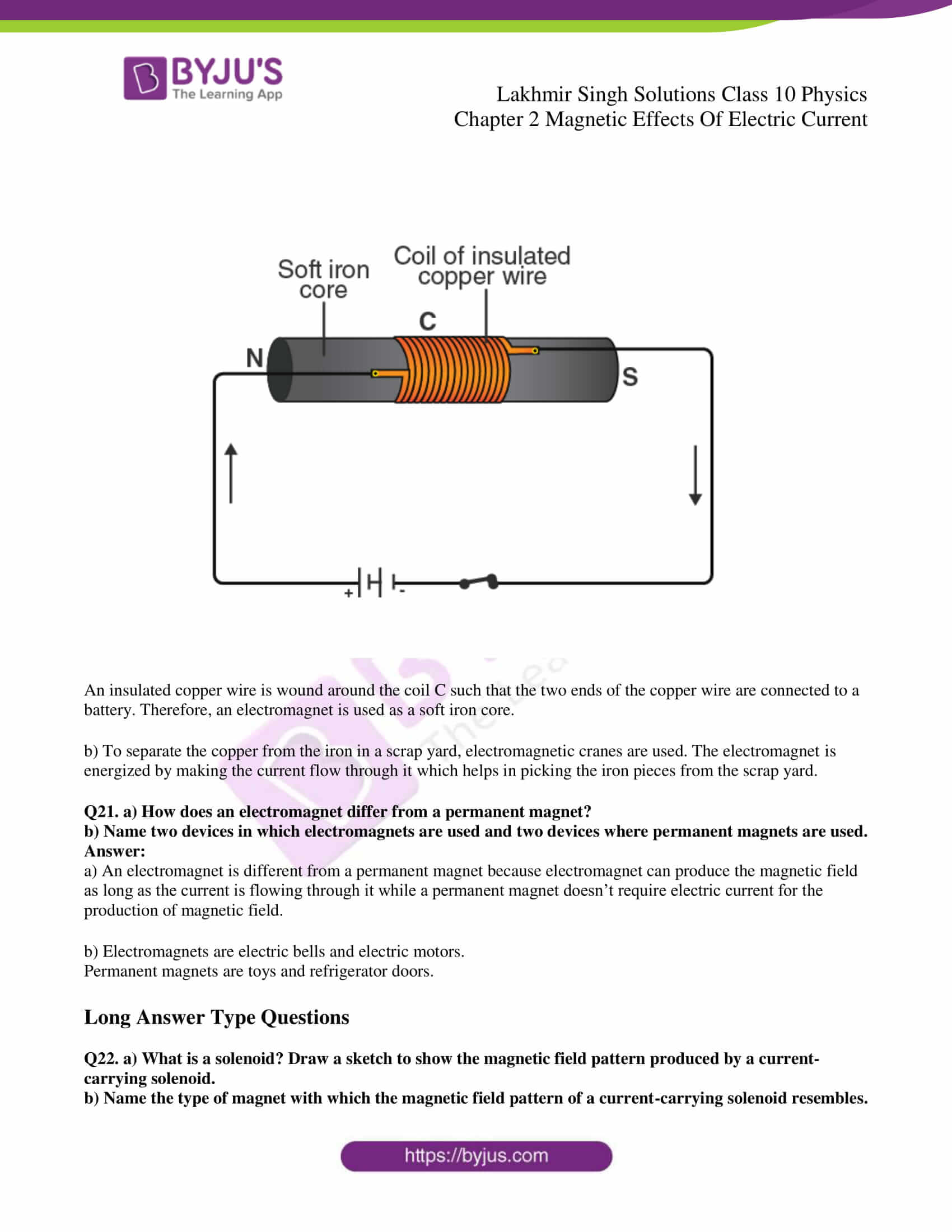 lakhmir singh sol class 10 physics chapter 2 12