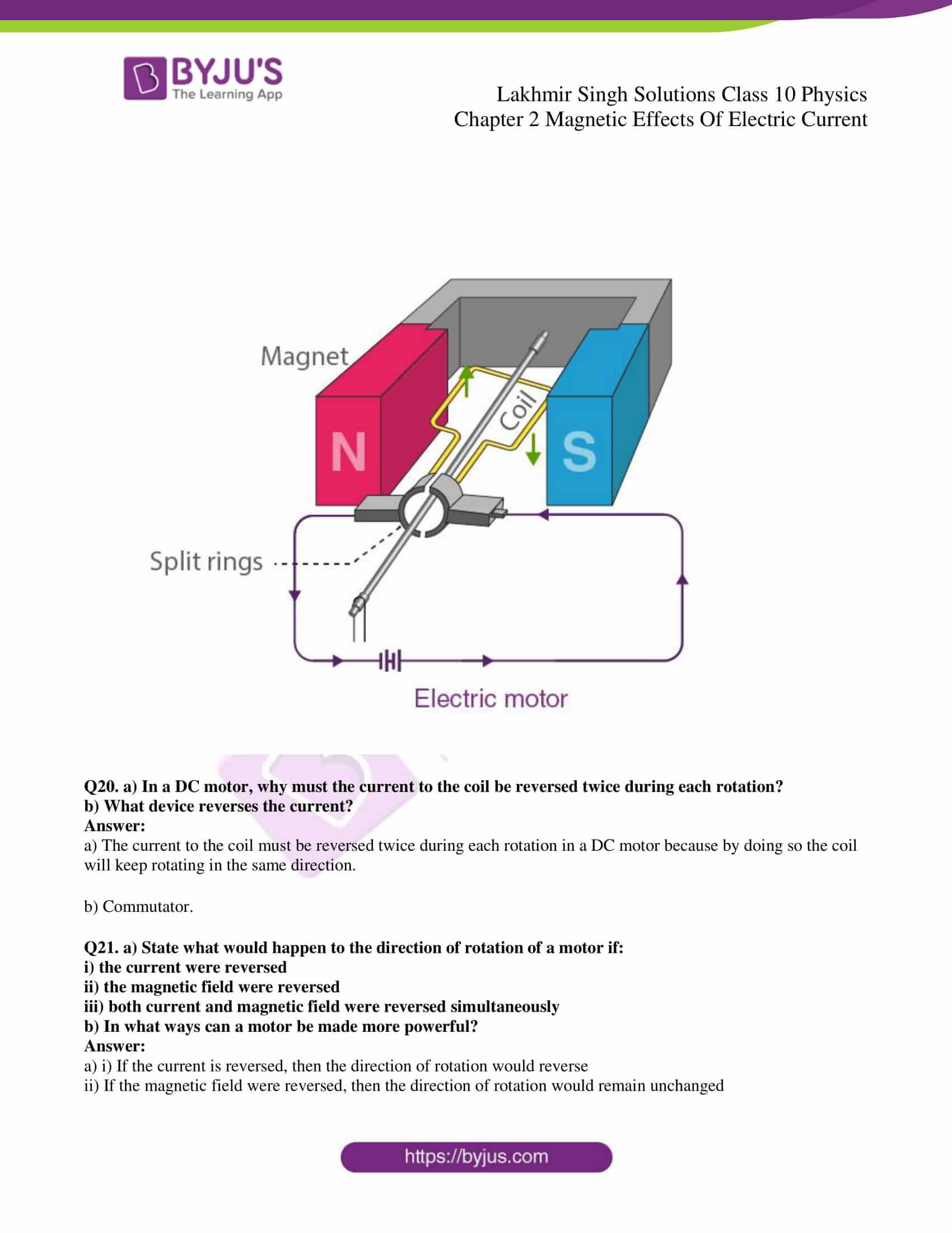 lakhmir singh sol class 10 physics chapter 2 21