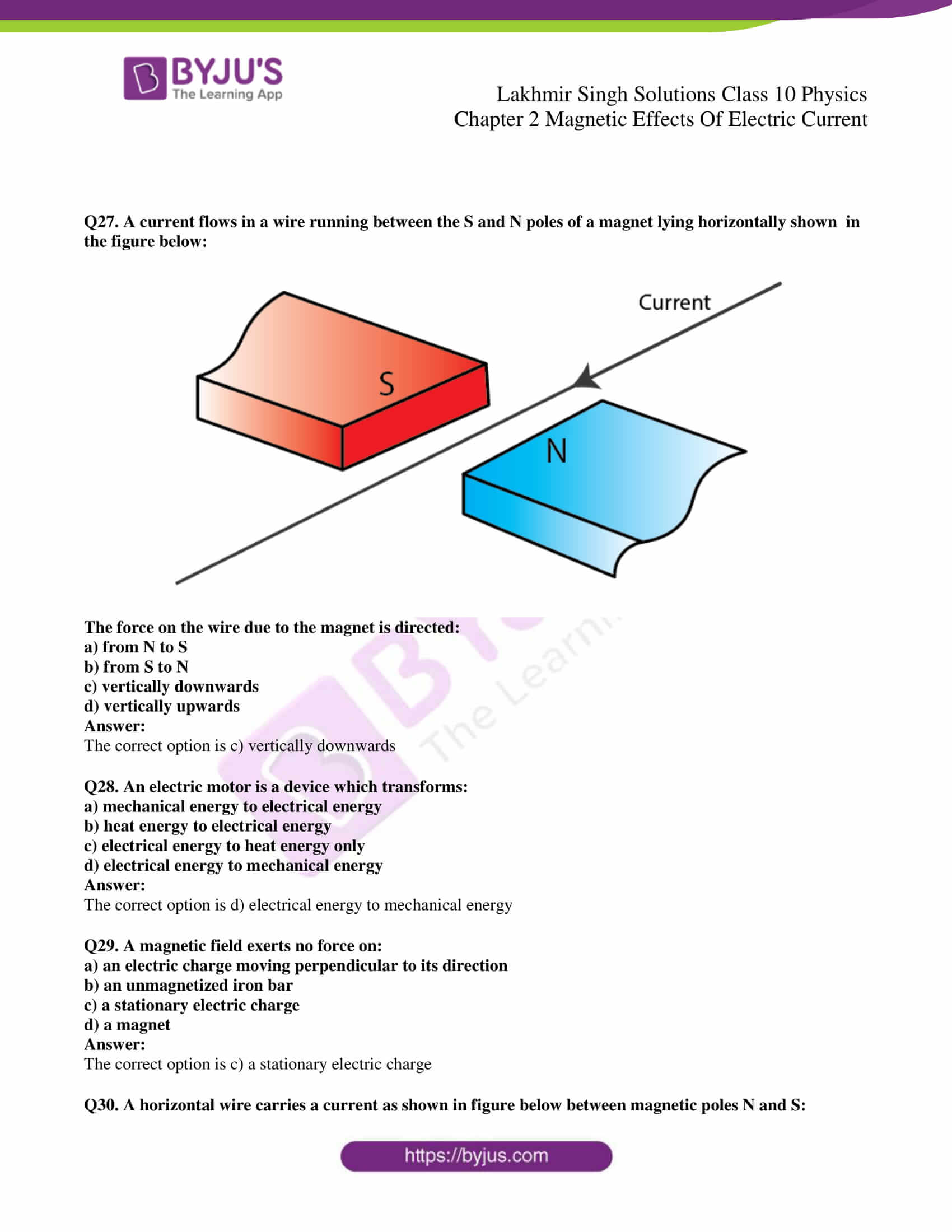 lakhmir singh sol class 10 physics chapter 2 25