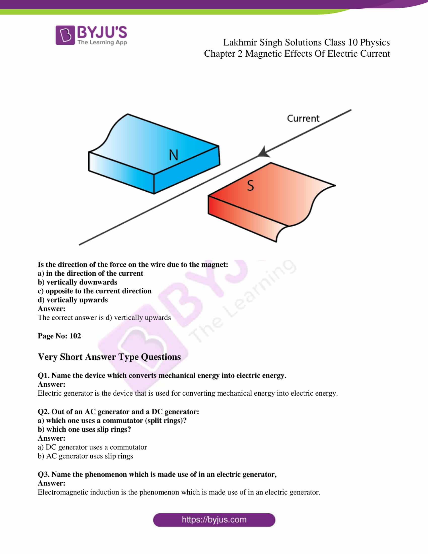 lakhmir singh sol class 10 physics chapter 2 26