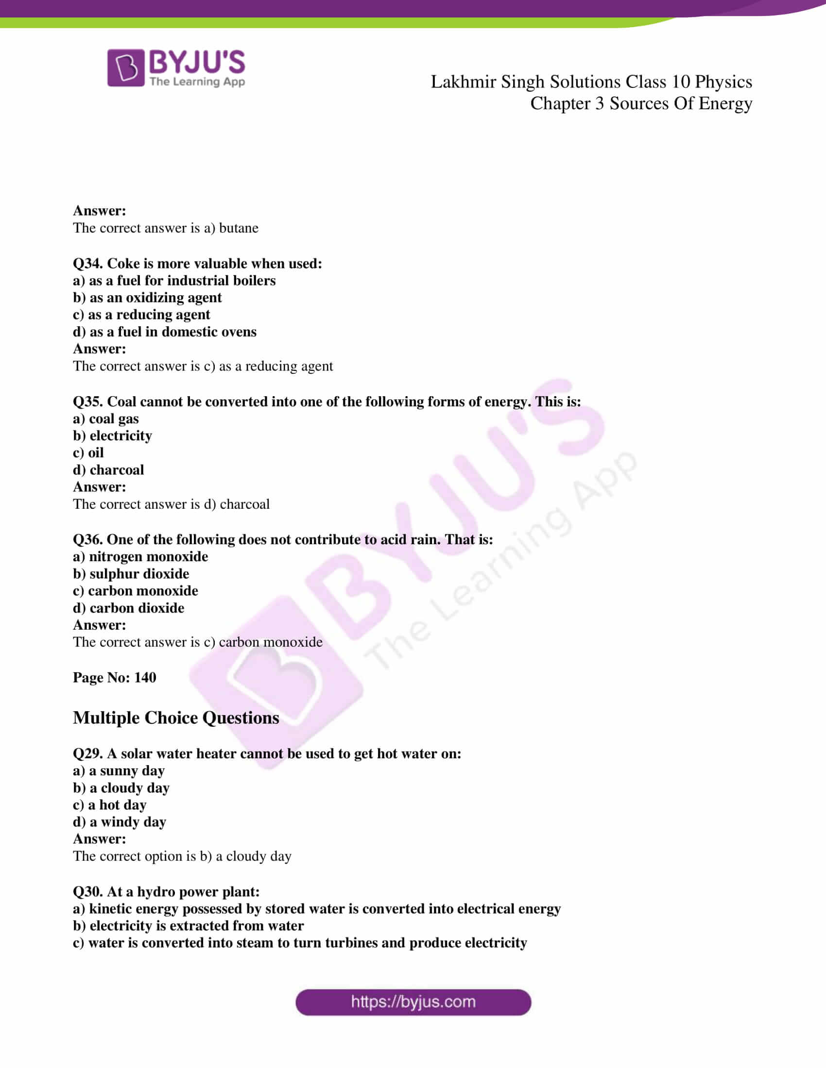 lakhmir singh sol class 10 physics chapter 3 12
