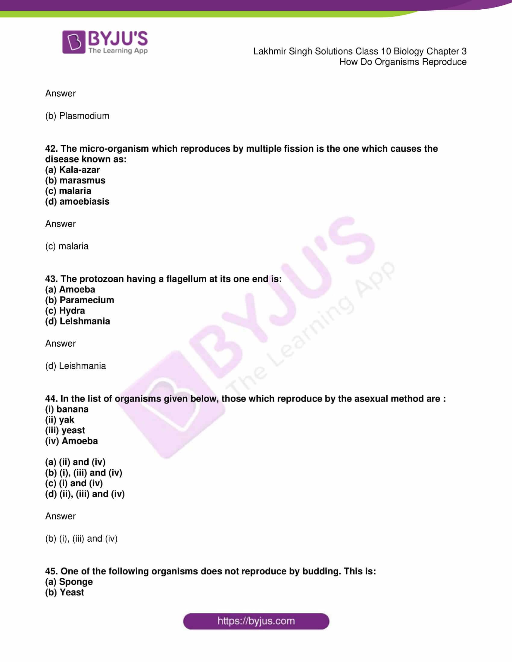 lakhmir singh solutions class 10 biology chapter 3 17