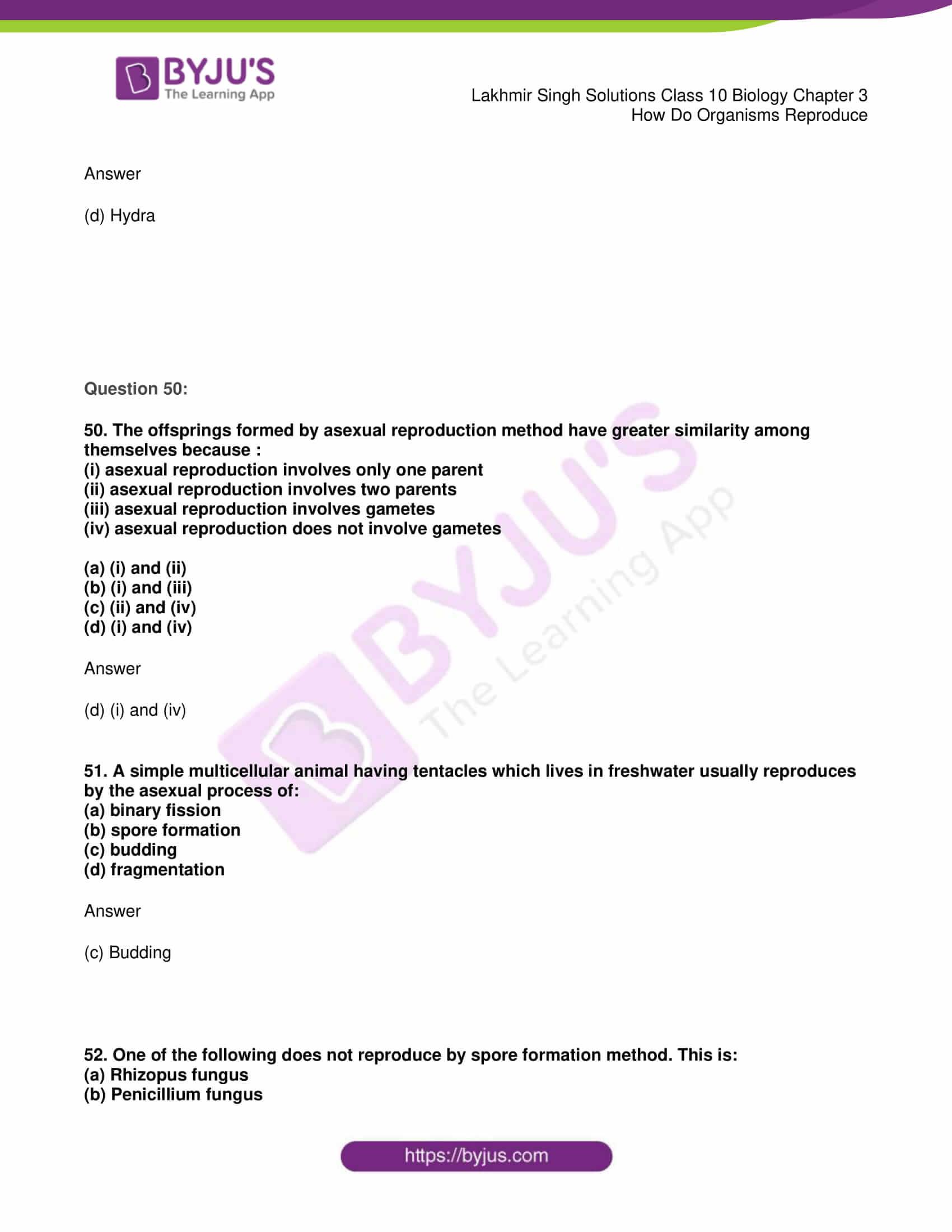 lakhmir singh solutions class 10 biology chapter 3 19