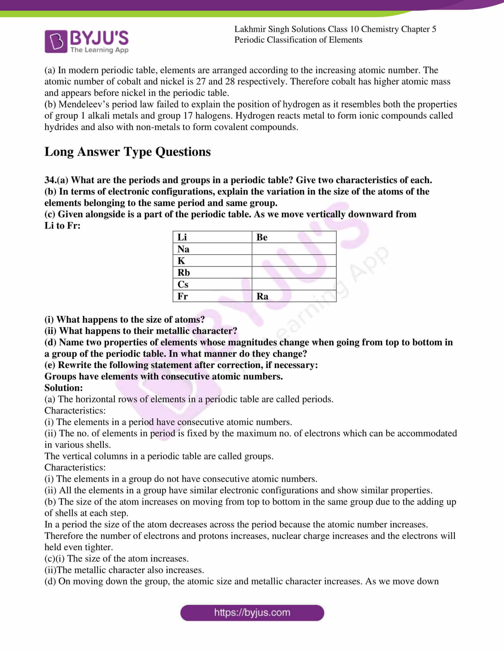 lakhmir singh solutions class 10 chemistry chapter 5 17