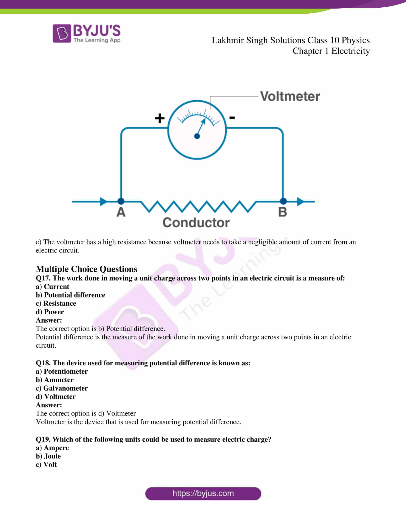 lakhmir singh solutions class 10 physics chapter 1 05