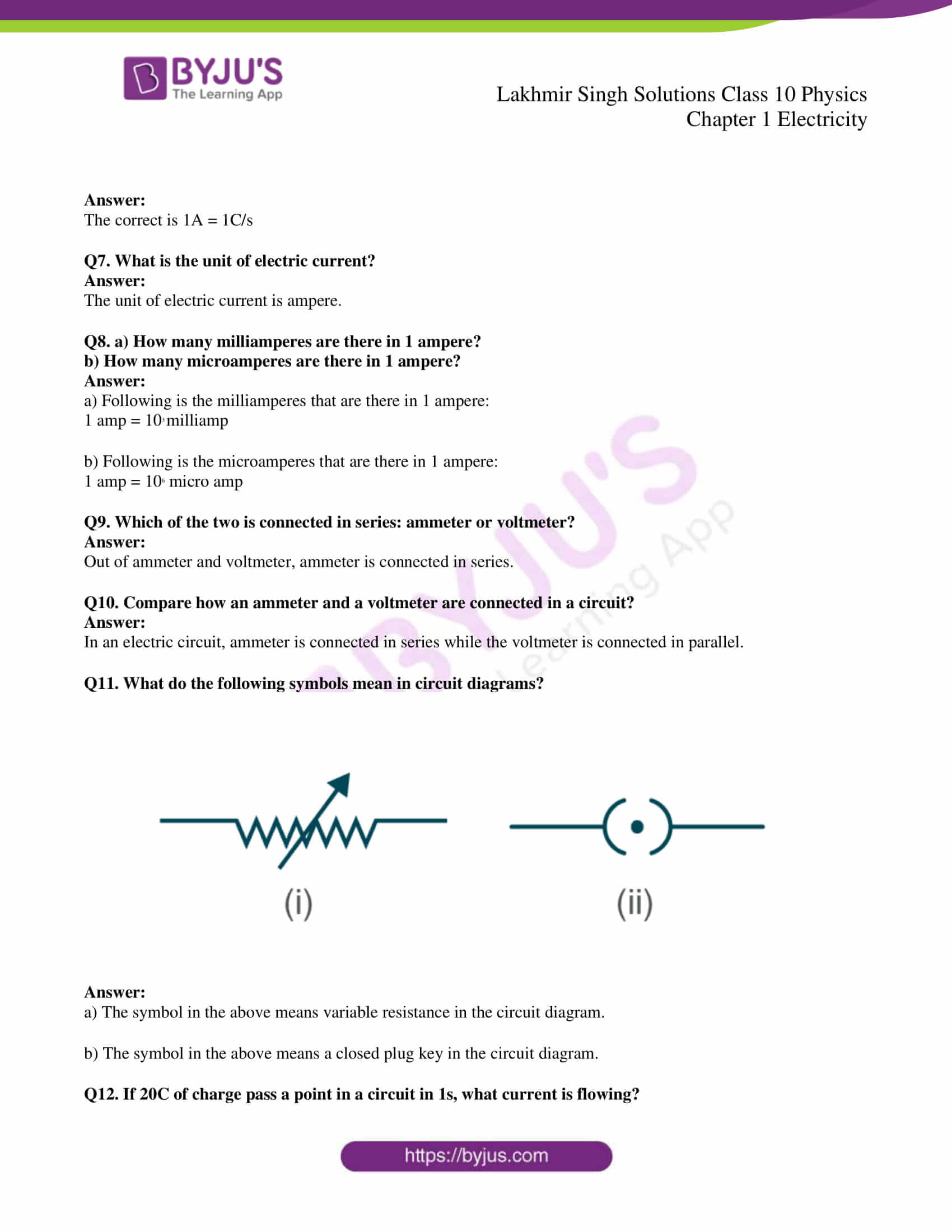 lakhmir singh solutions class 10 physics chapter 1 08