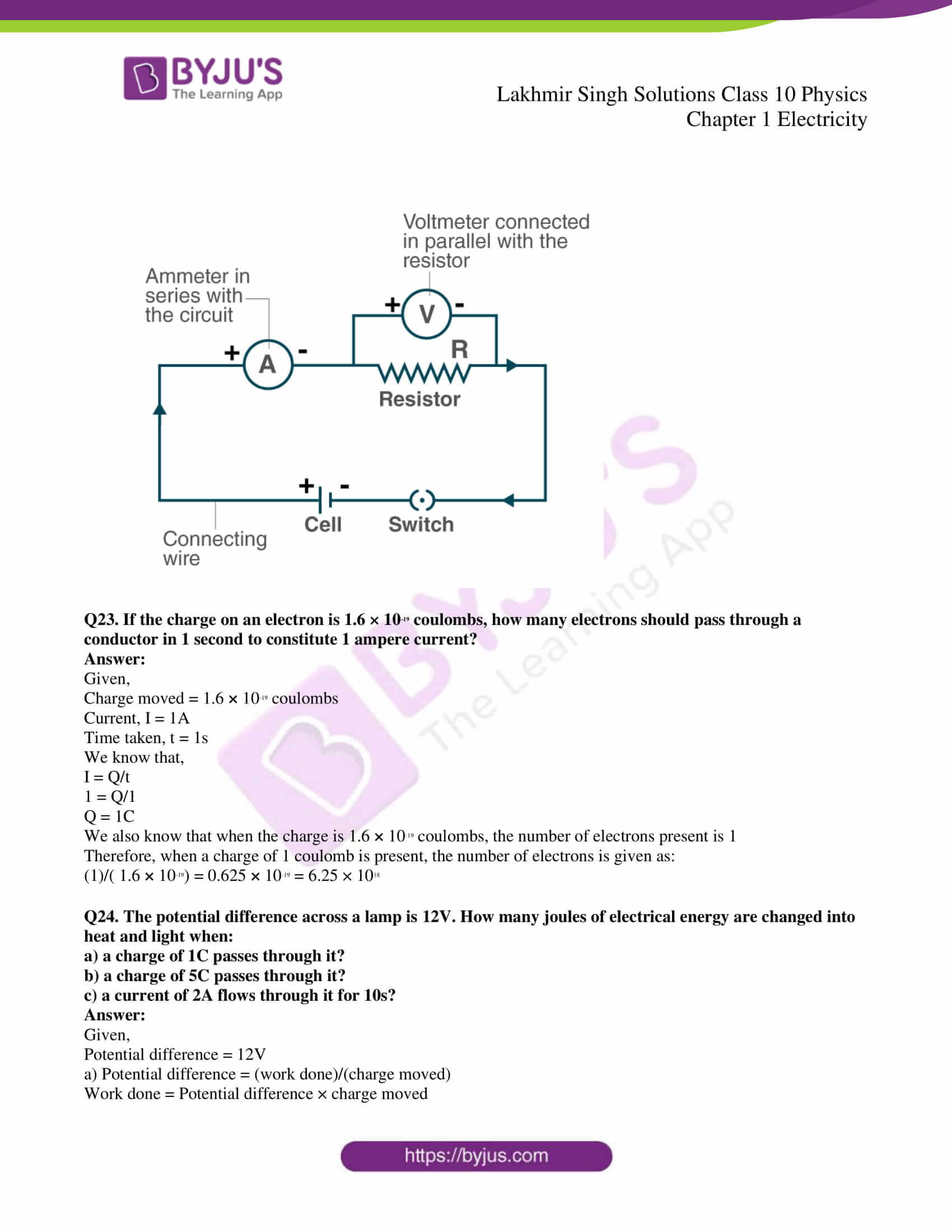 lakhmir singh solutions class 10 physics chapter 1 13