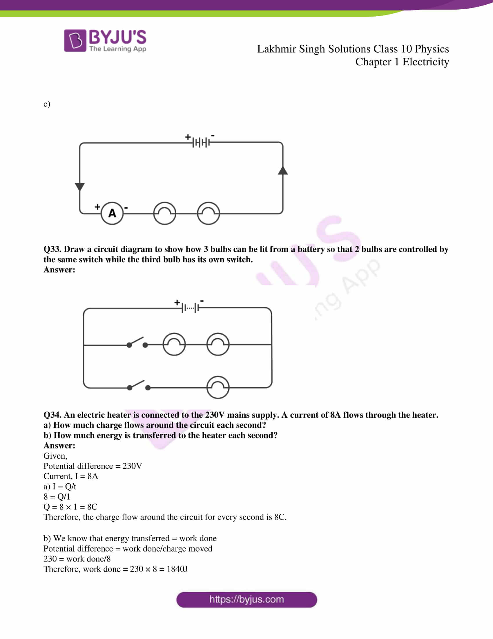lakhmir singh solutions class 10 physics chapter 1 17