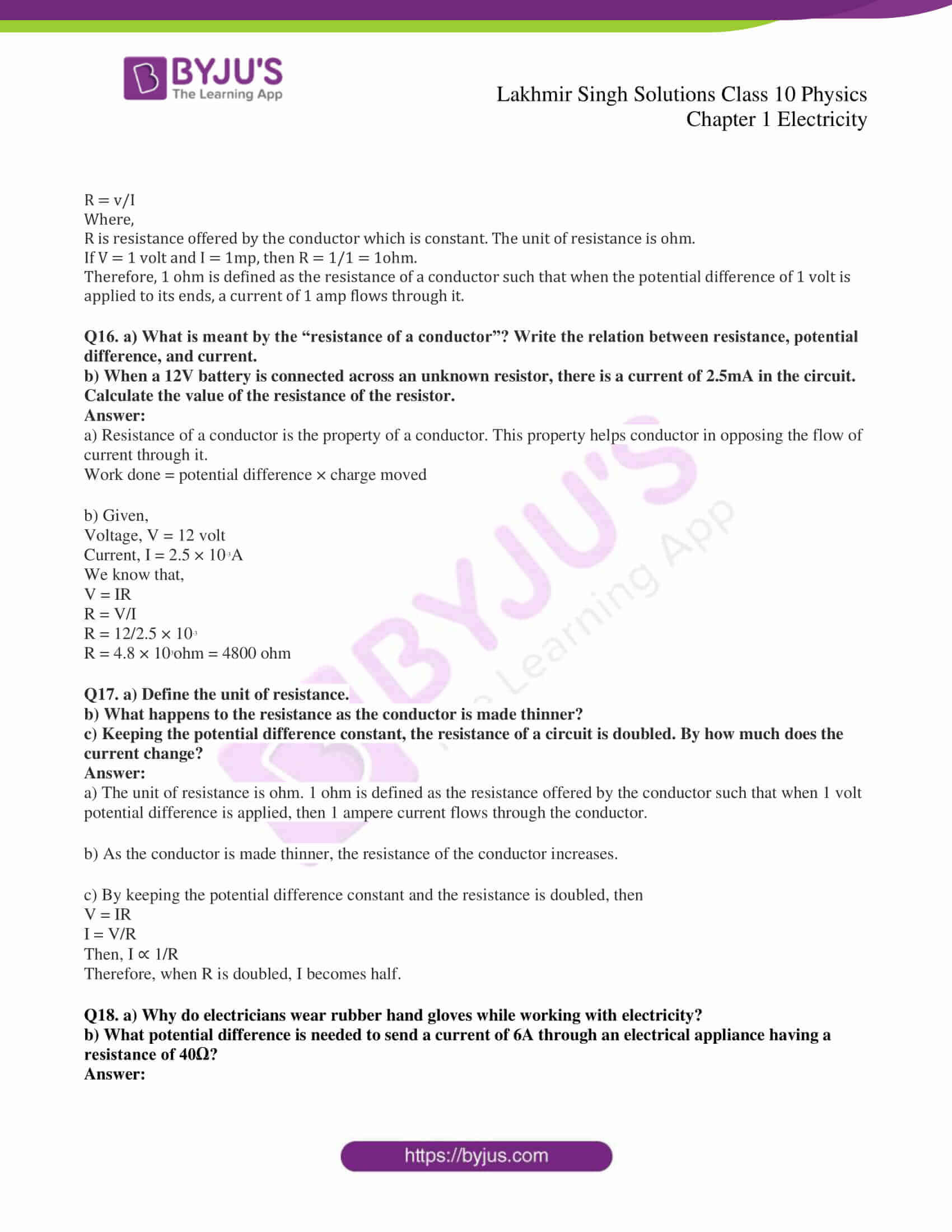 lakhmir singh solutions class 10 physics chapter 1 21