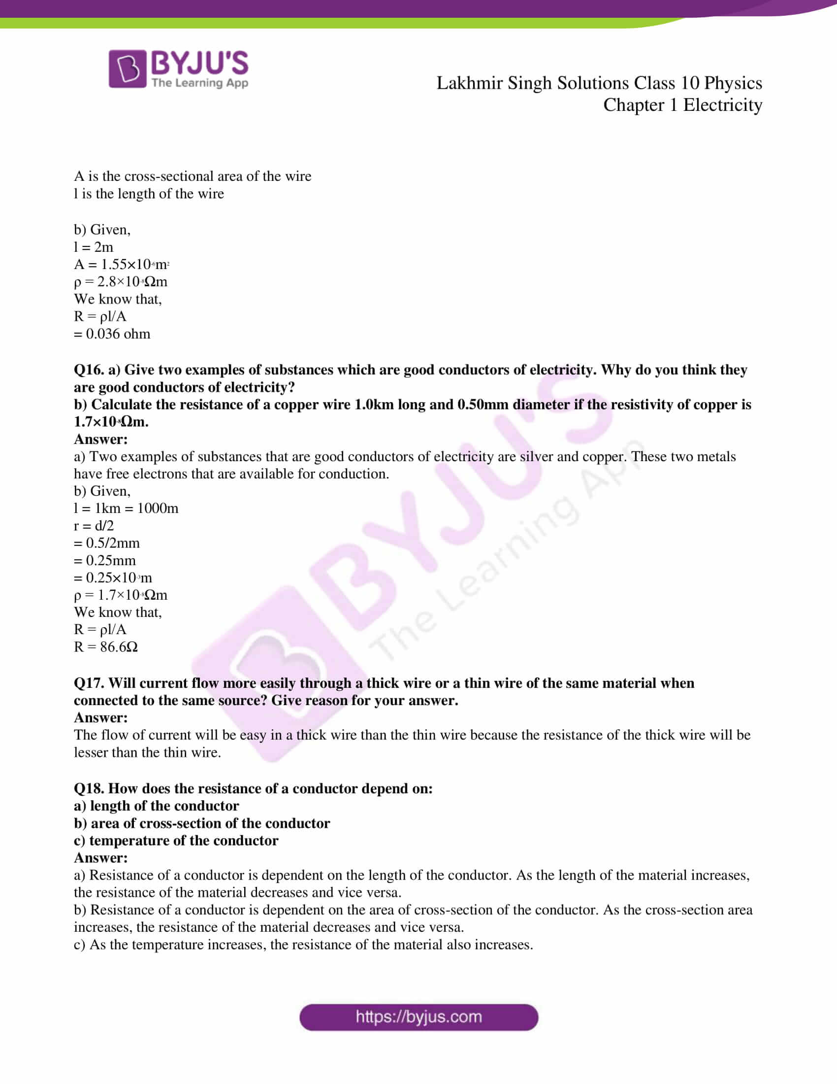 lakhmir singh solutions class 10 physics chapter 1 30