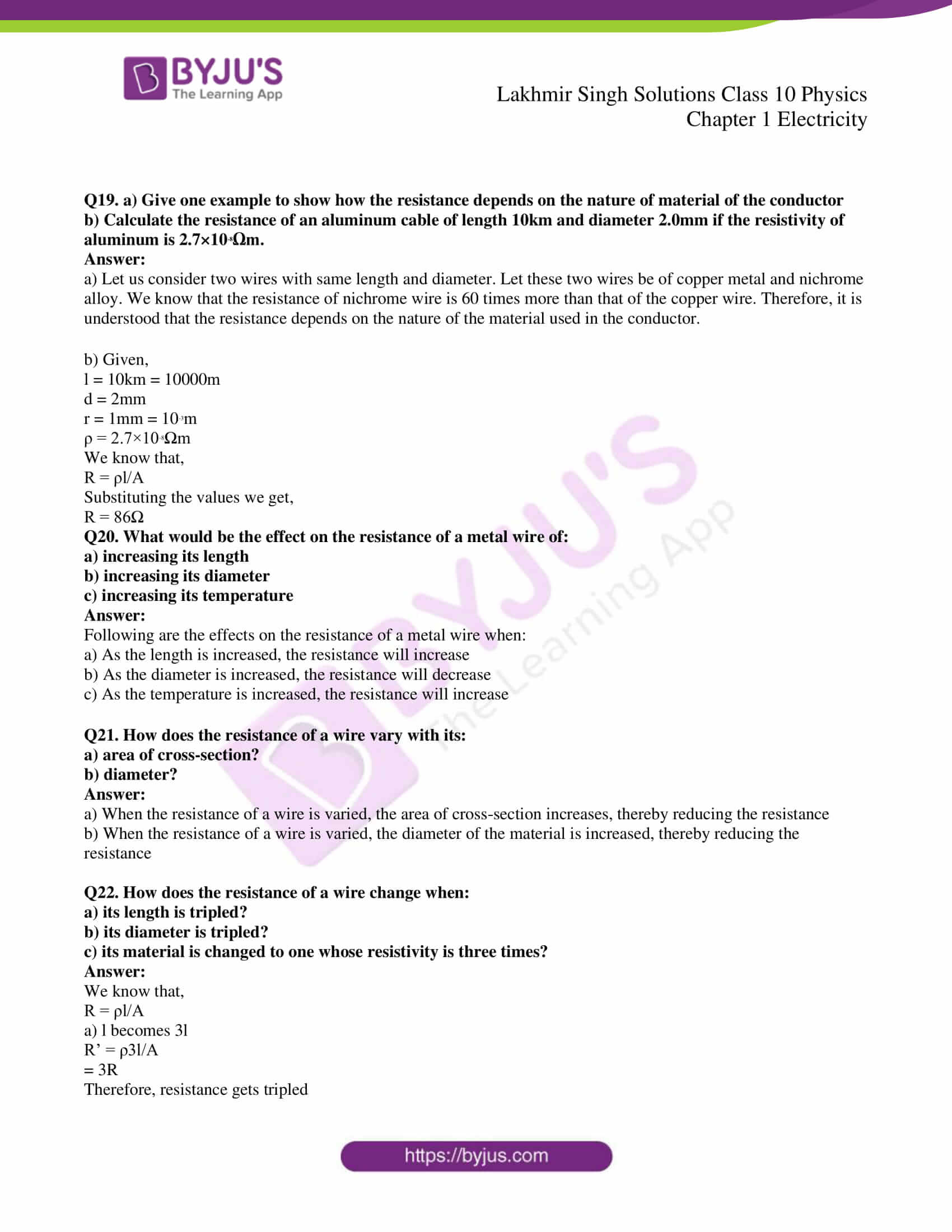 lakhmir singh solutions class 10 physics chapter 1 31