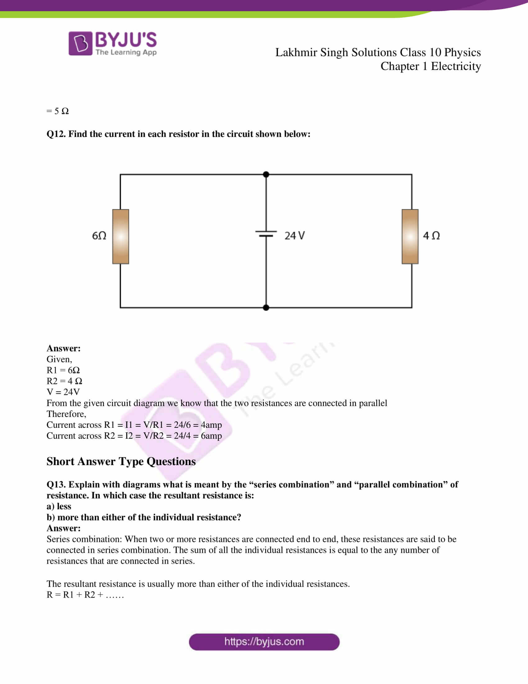 lakhmir singh solutions class 10 physics chapter 1 40