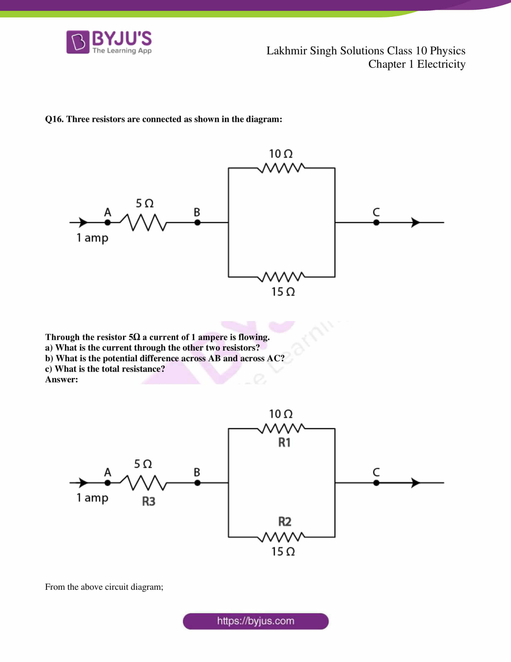 lakhmir singh solutions class 10 physics chapter 1 43