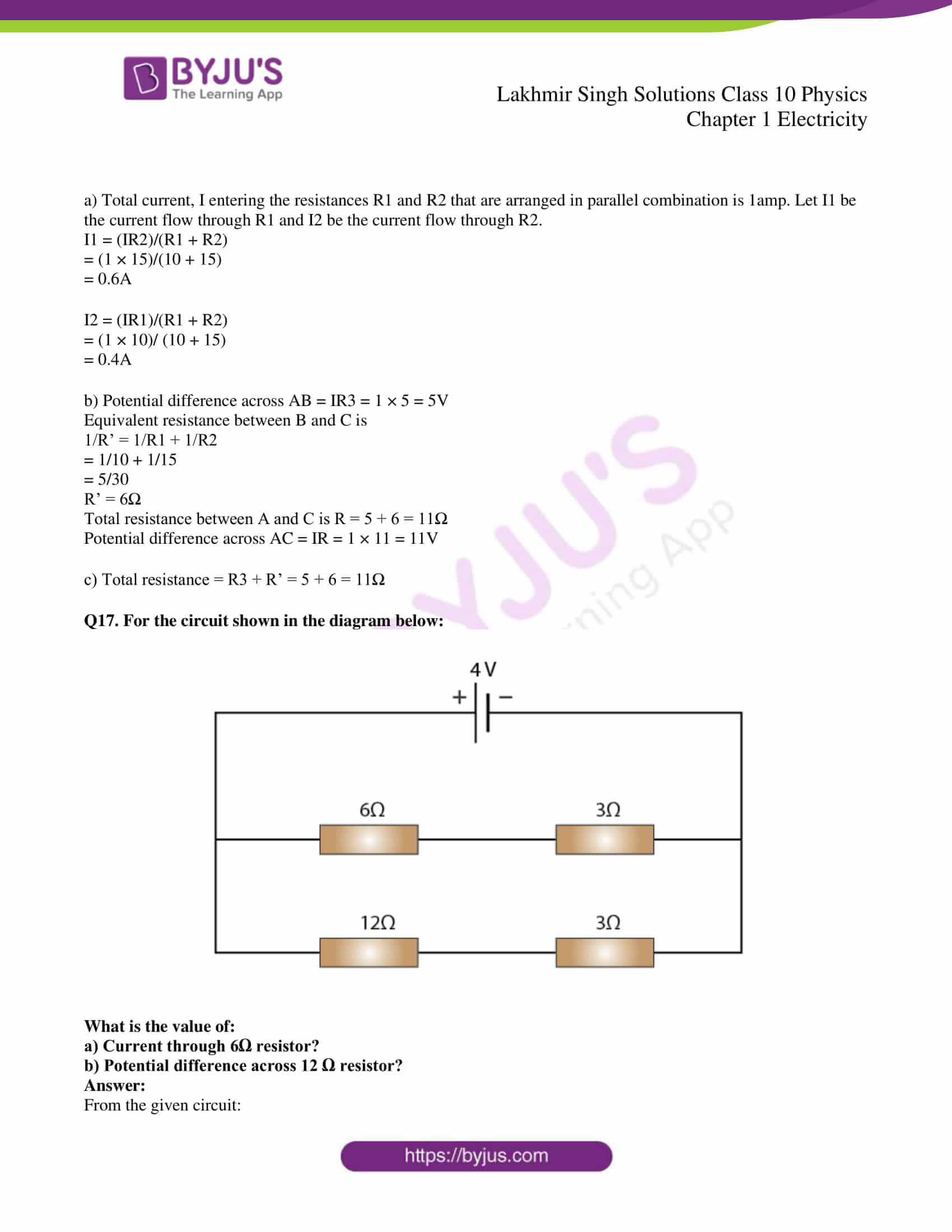 lakhmir singh solutions class 10 physics chapter 1 44
