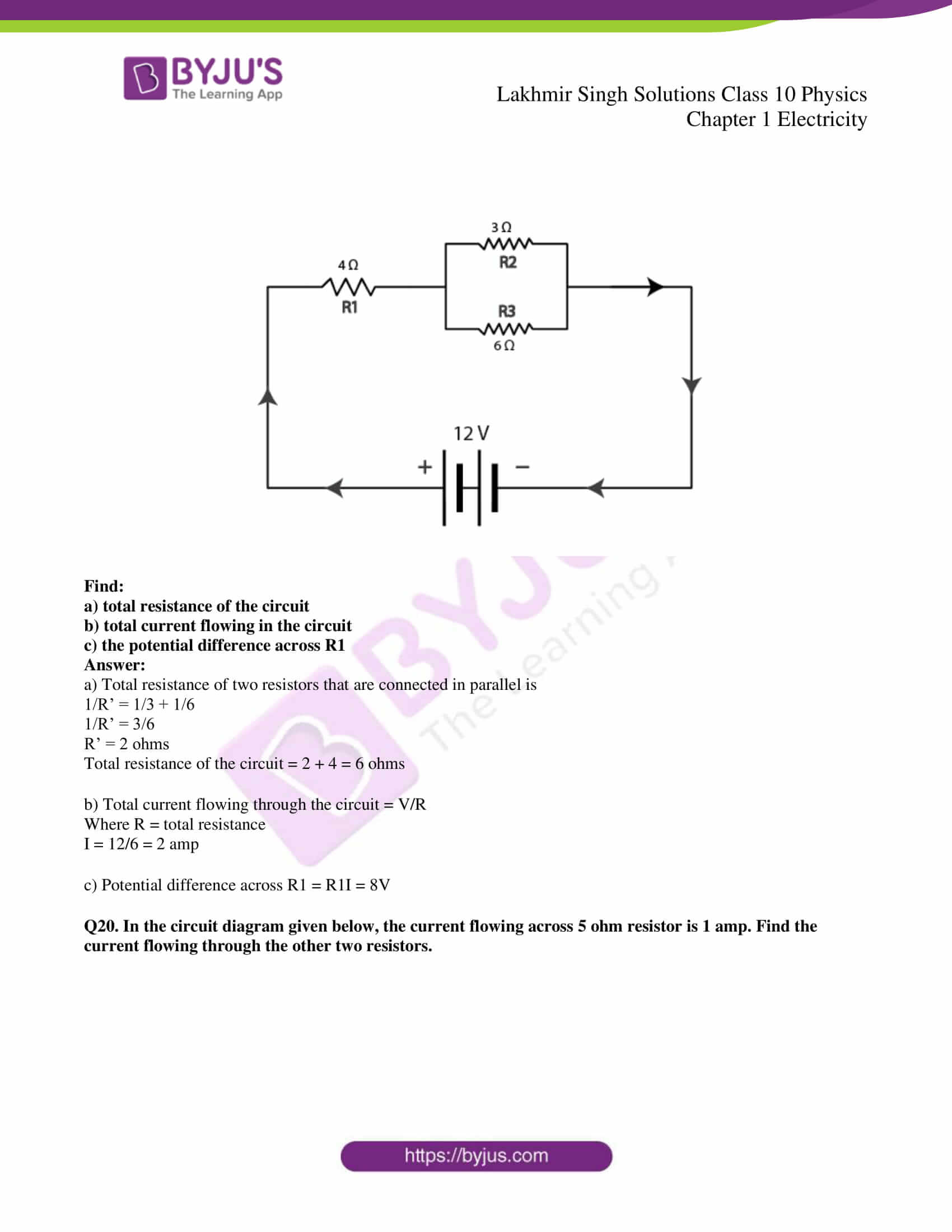 lakhmir singh solutions class 10 physics chapter 1 46