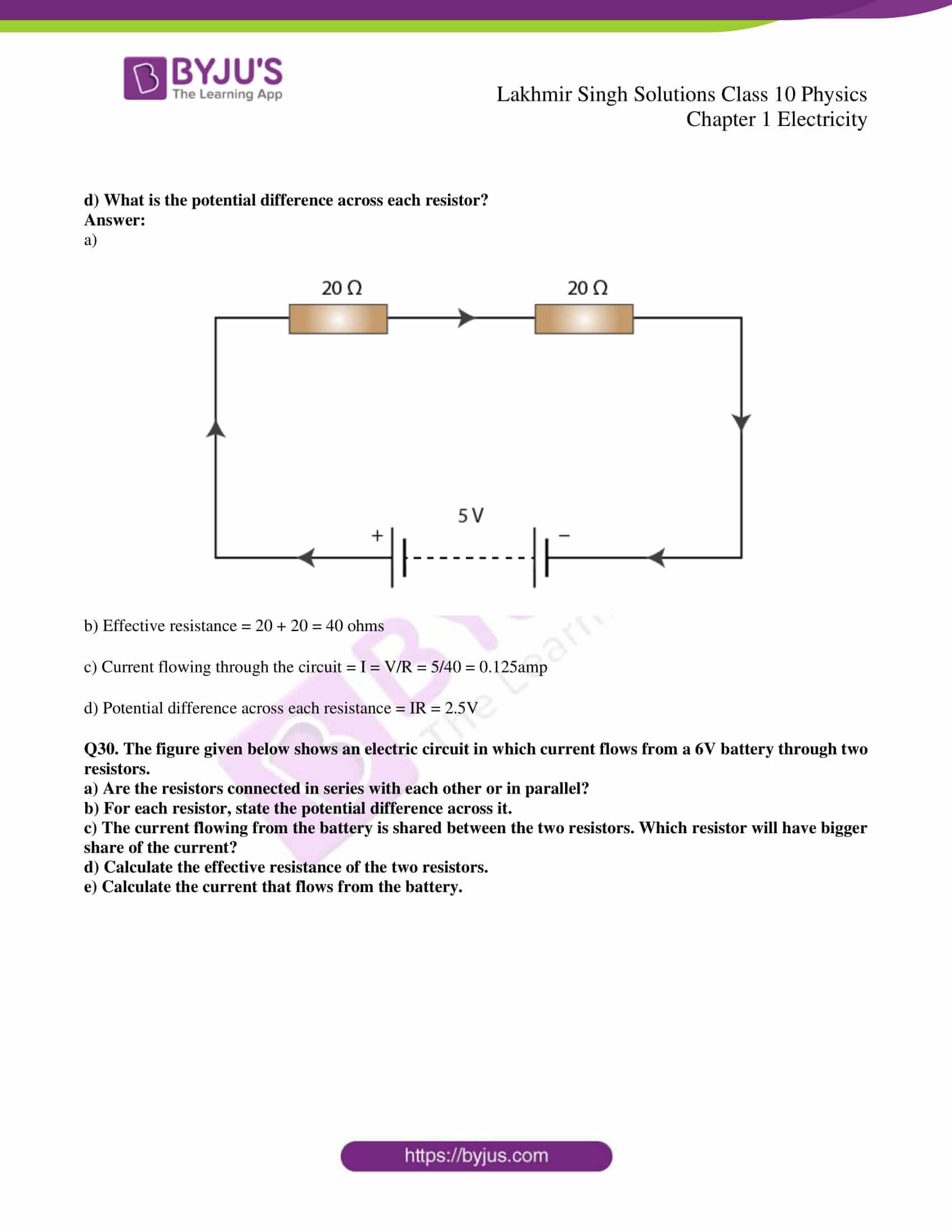 lakhmir singh solutions class 10 physics chapter 1 53