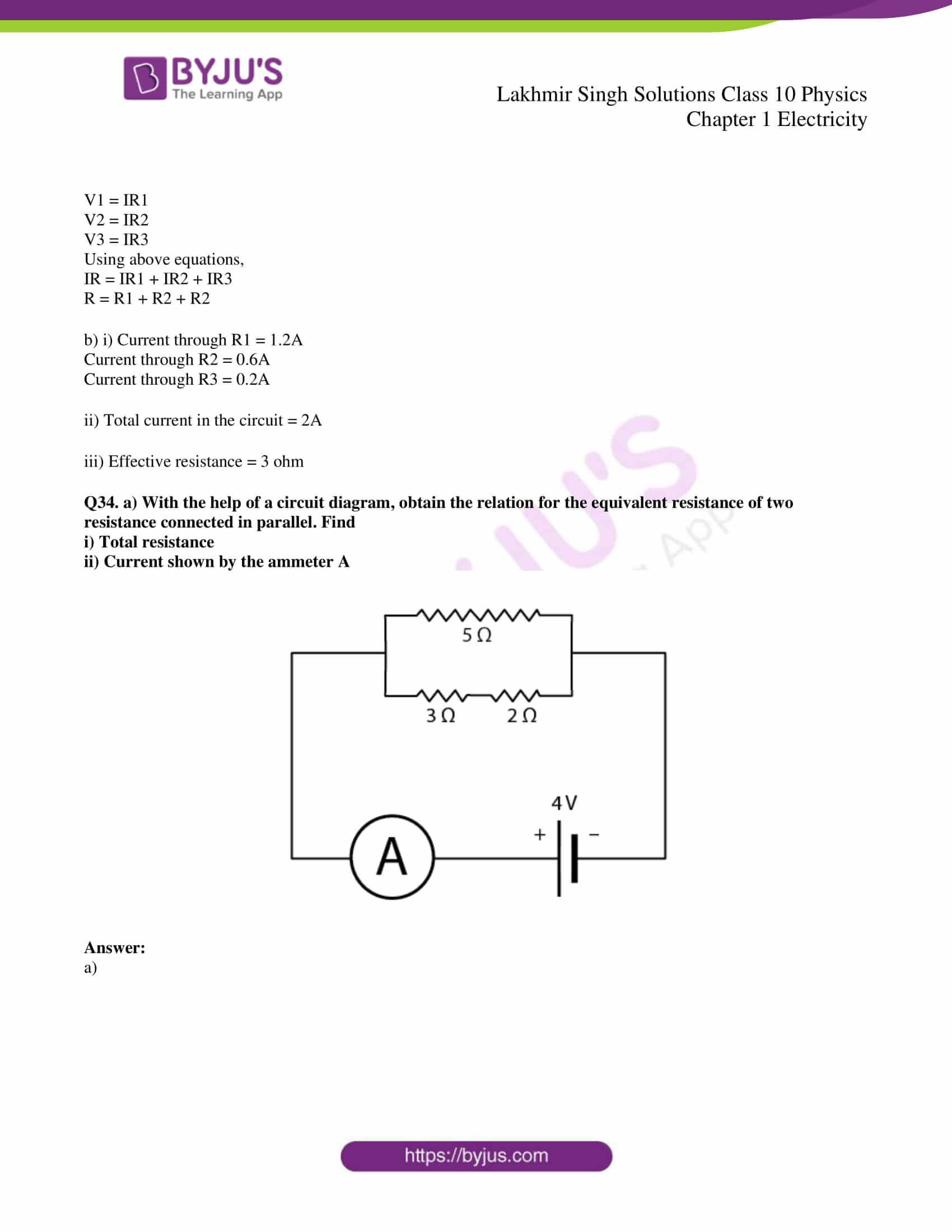 lakhmir singh solutions class 10 physics chapter 1 58
