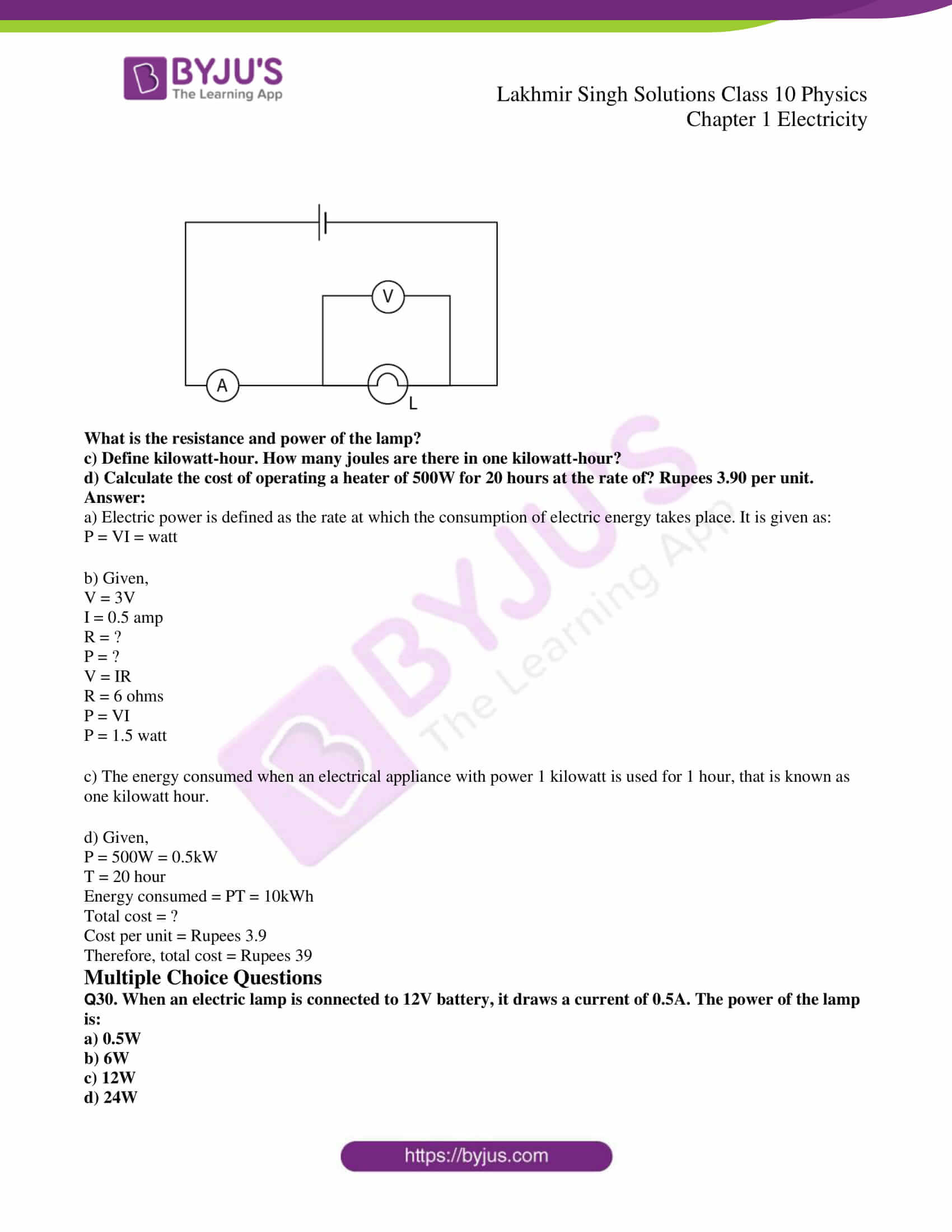 lakhmir singh solutions class 10 physics chapter 1 81