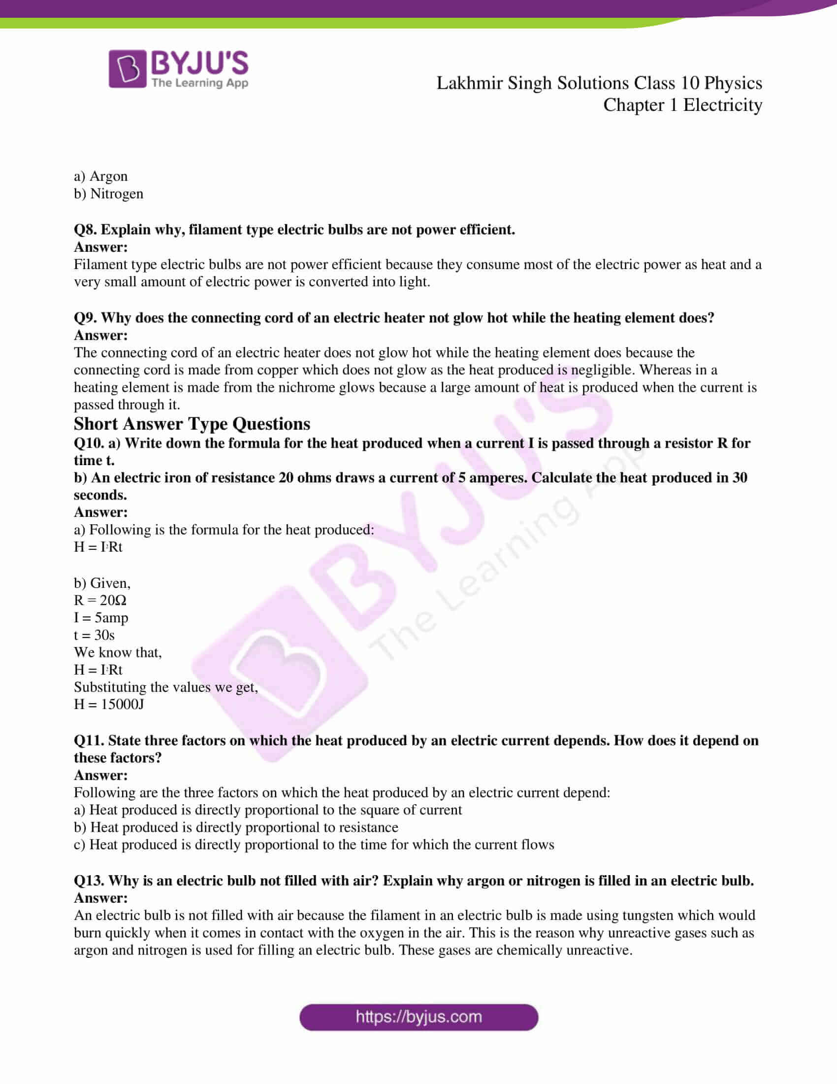 lakhmir singh solutions class 10 physics chapter 1 85