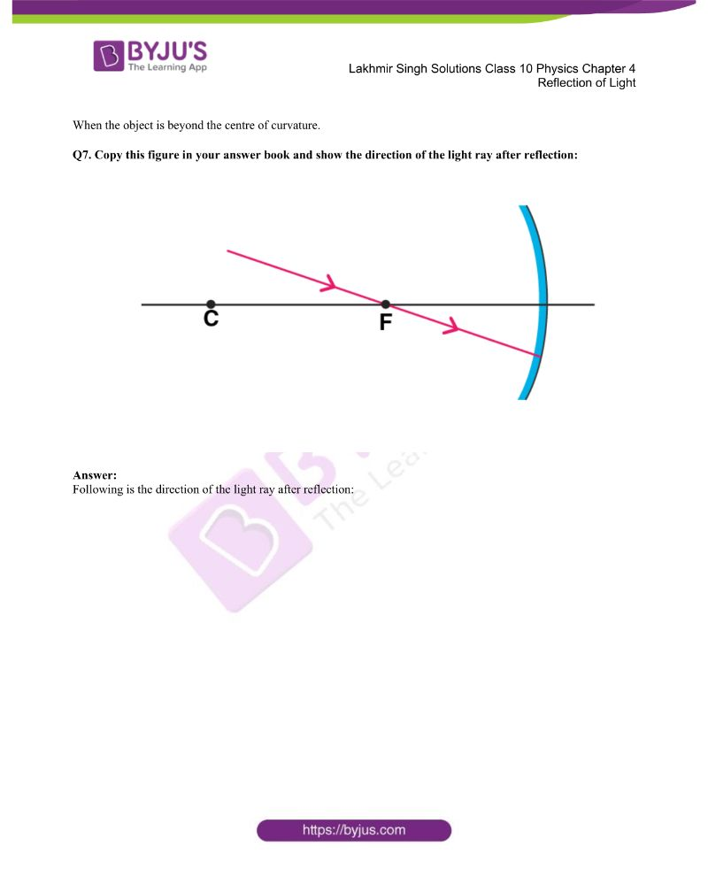 Lakhmir Singh Solutions Class 10 Physics Chapter 4 Reflection Of Light 18