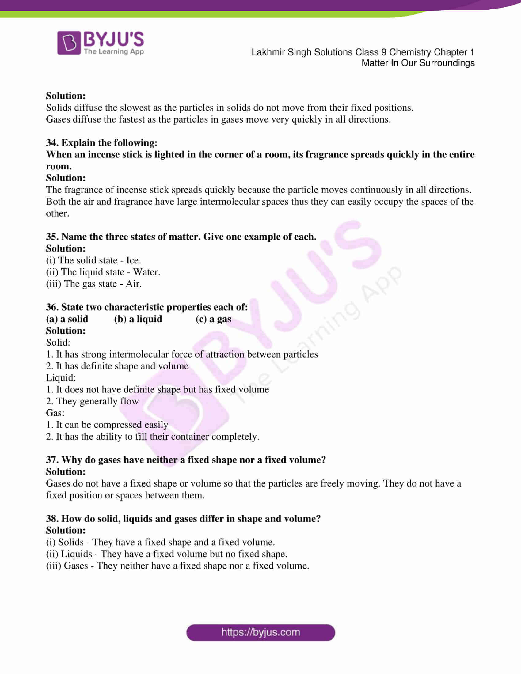 lakhmir singh solutions class 9 chemistry chapter 1 06