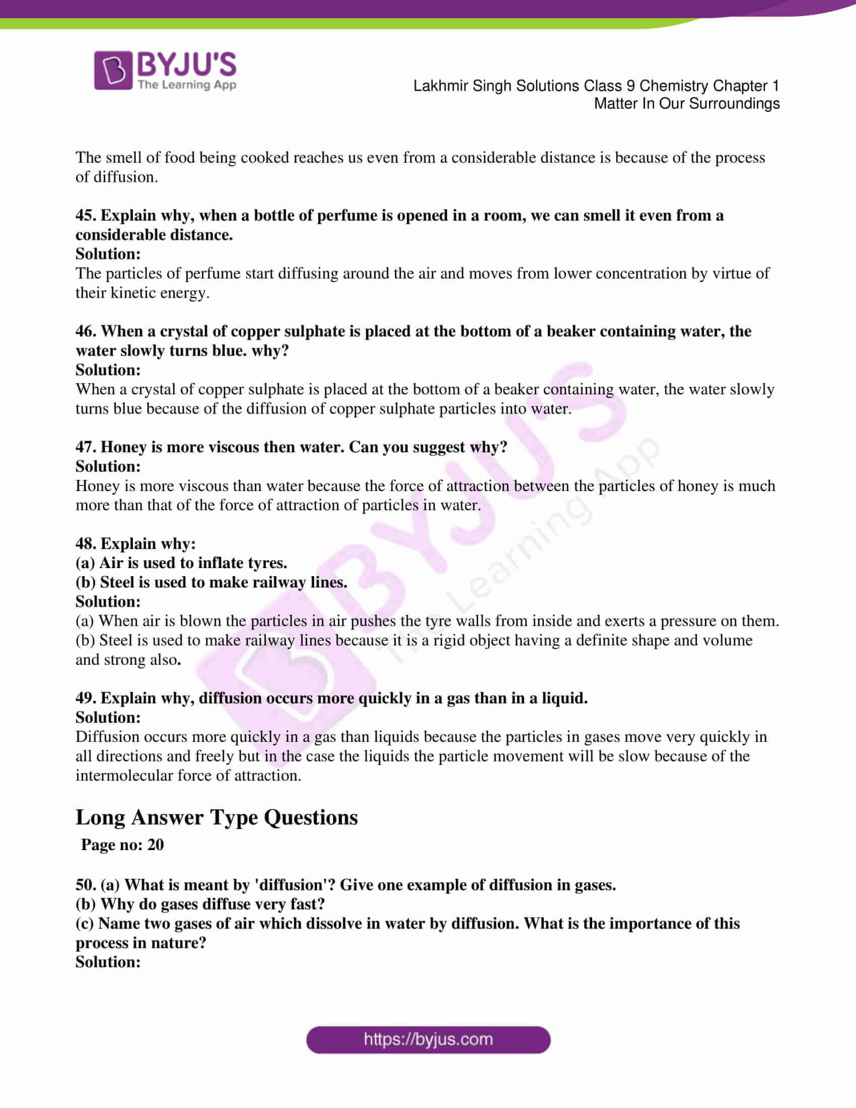 lakhmir singh solutions class 9 chemistry chapter 1 08