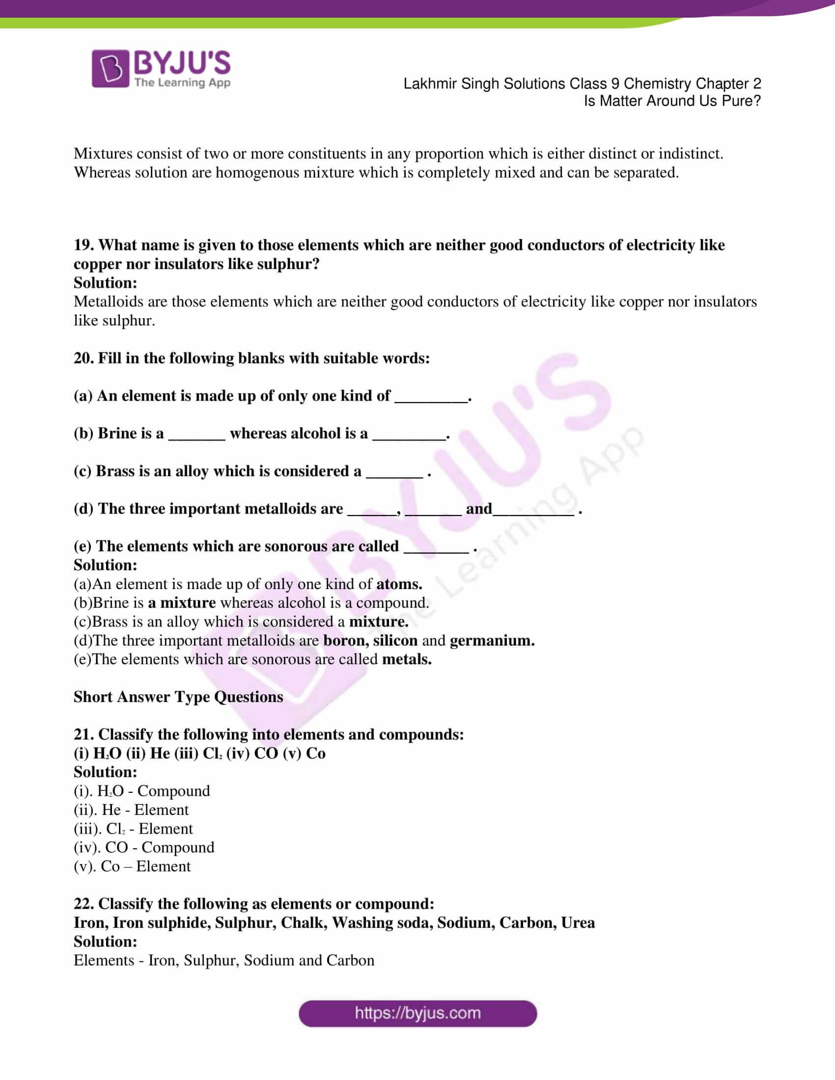 lakhmir singh solutions class 9 chemistry chapter 2 03