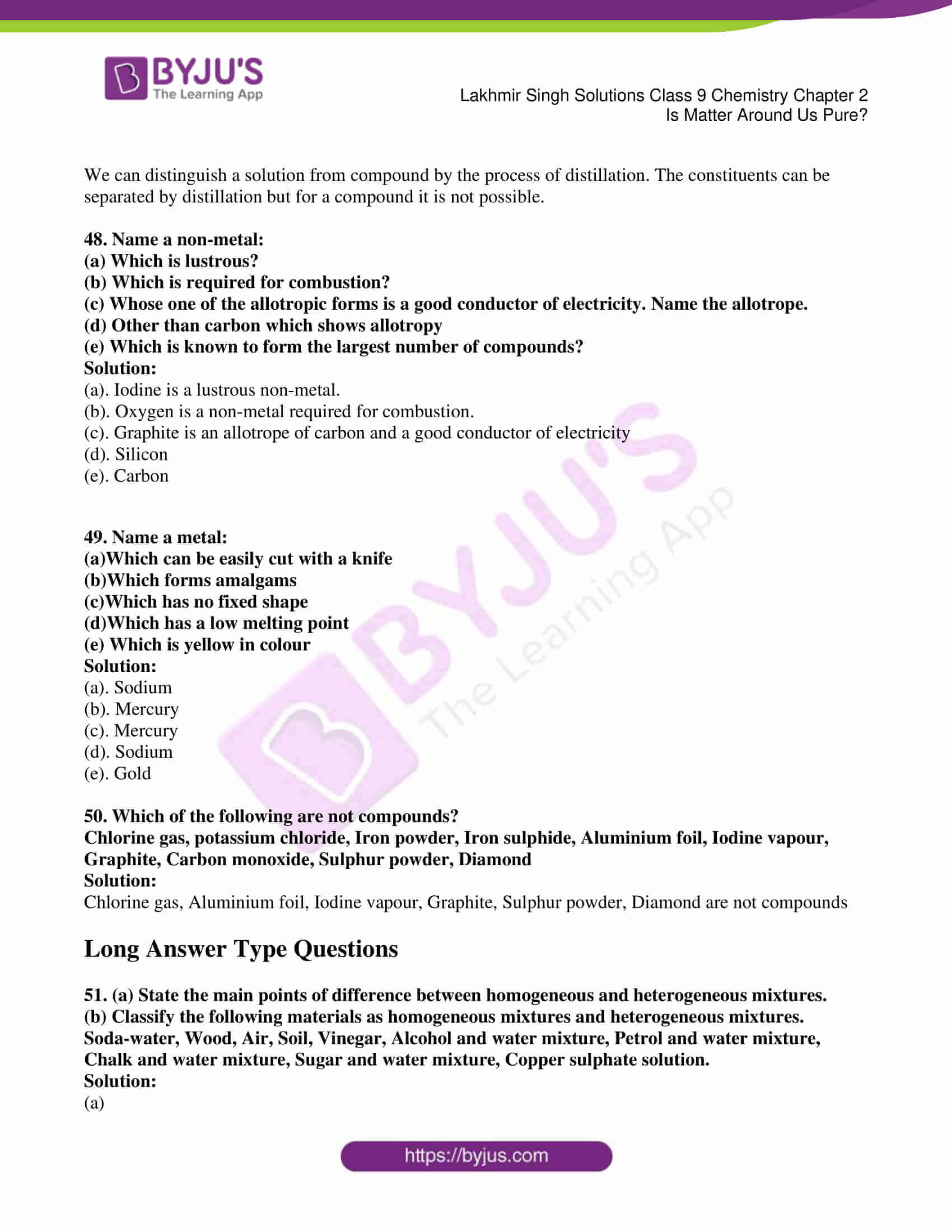 lakhmir singh solutions class 9 chemistry chapter 2 08