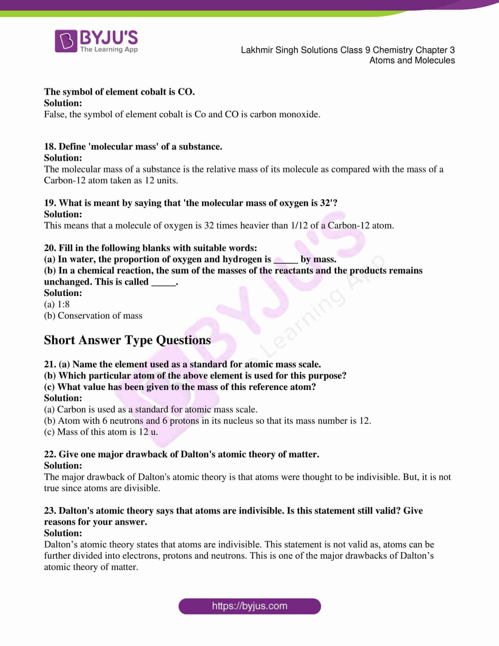 lakhmir singh solutions class 9 chemistry chapter 3 03