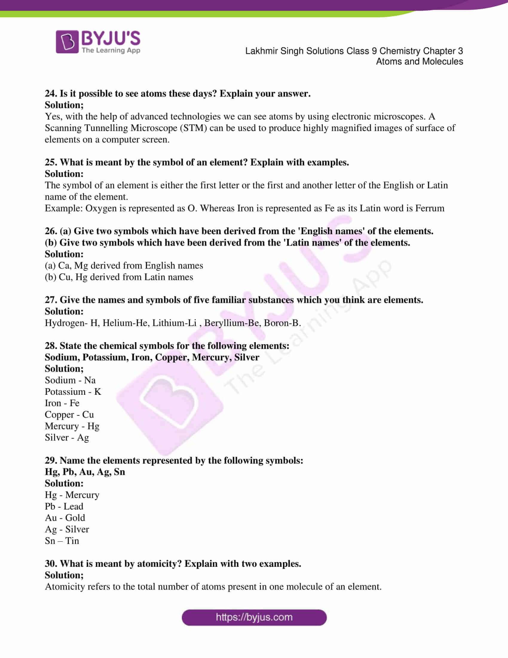 lakhmir singh solutions class 9 chemistry chapter 3 04