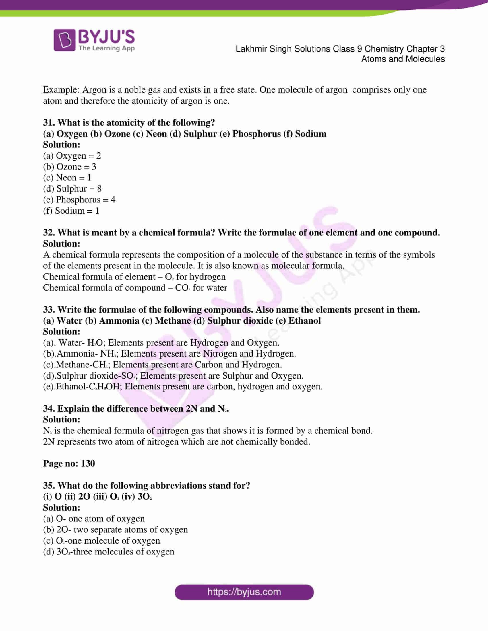 lakhmir singh solutions class 9 chemistry chapter 3 05