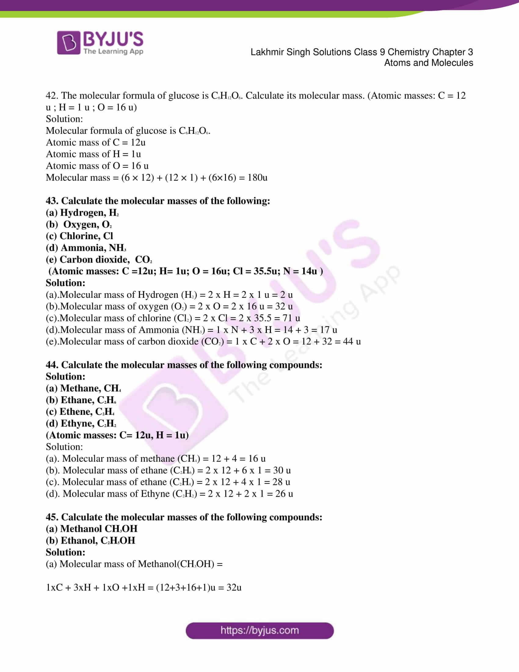 lakhmir singh solutions class 9 chemistry chapter 3 07