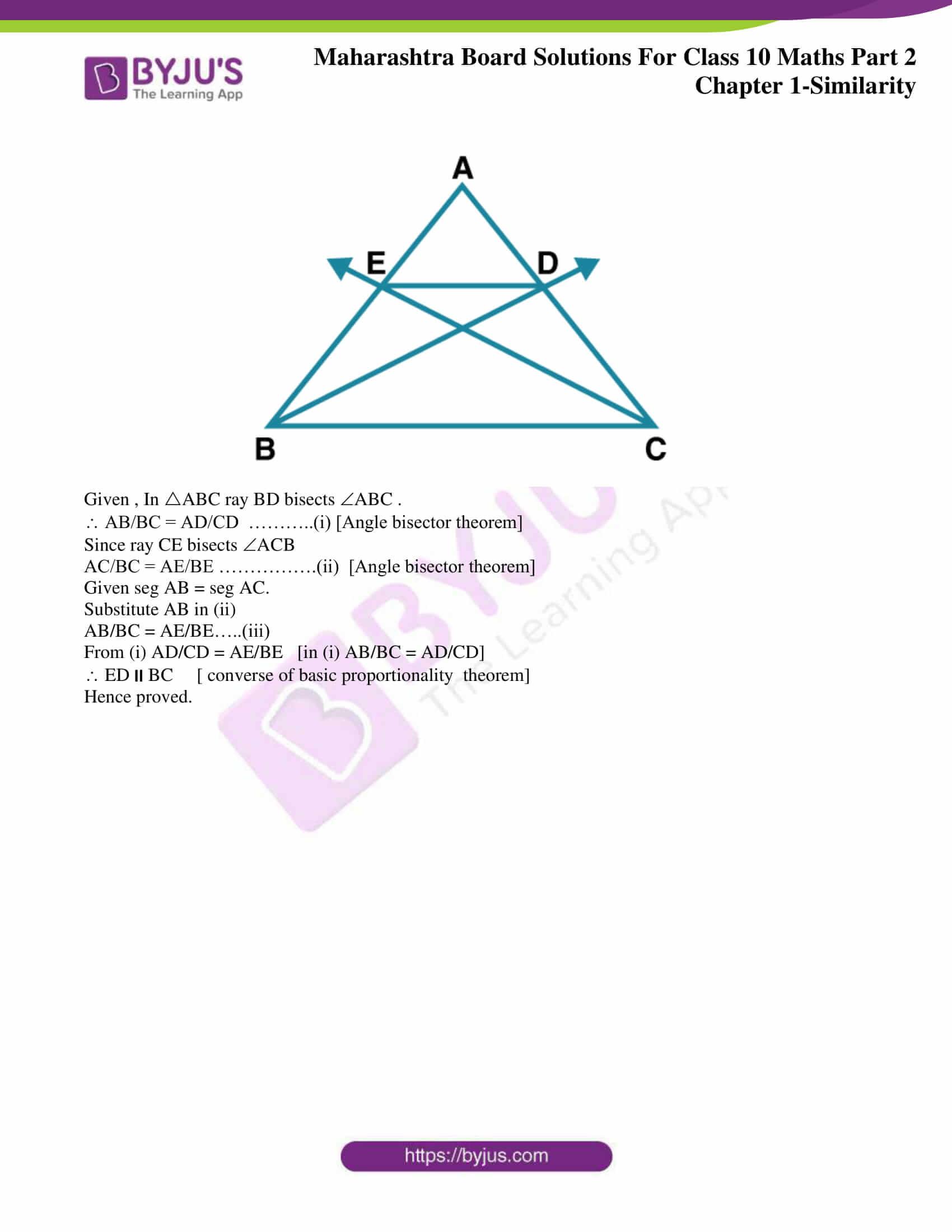 msbshse sol class 10 maths part 2 chapter 1 12