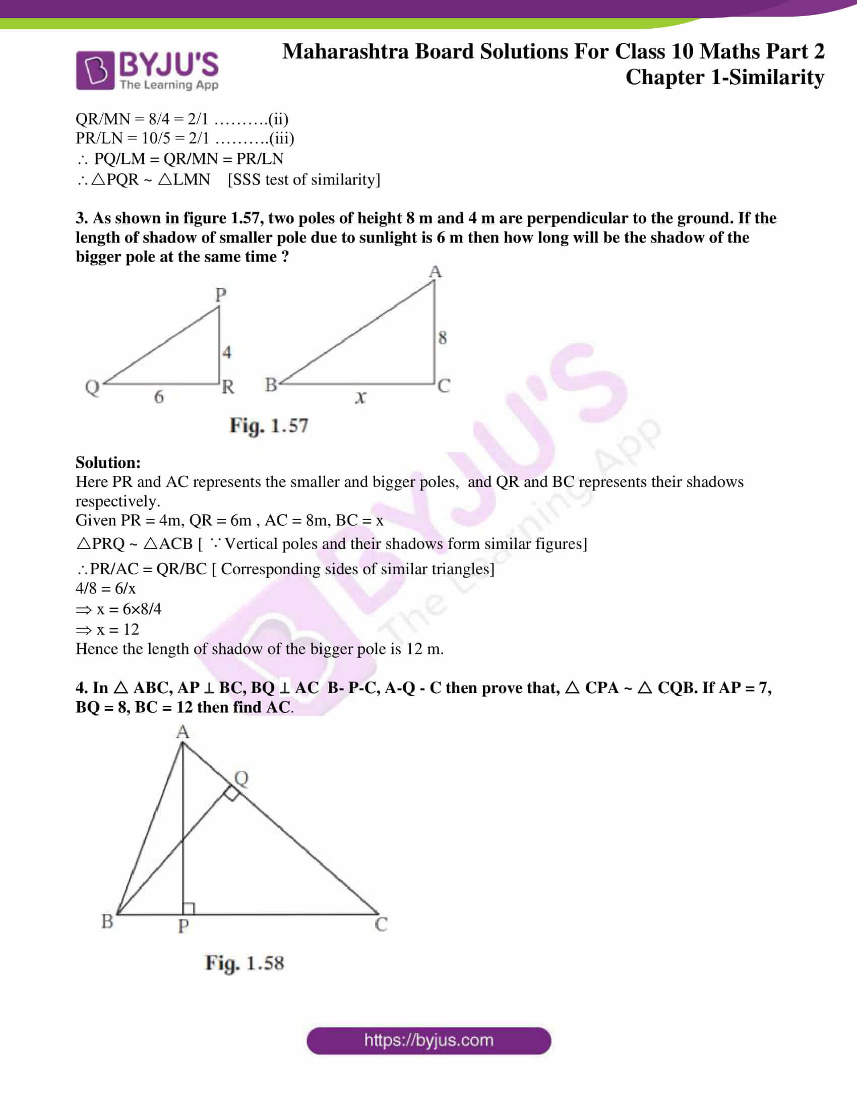 msbshse sol class 10 maths part 2 chapter 1 14