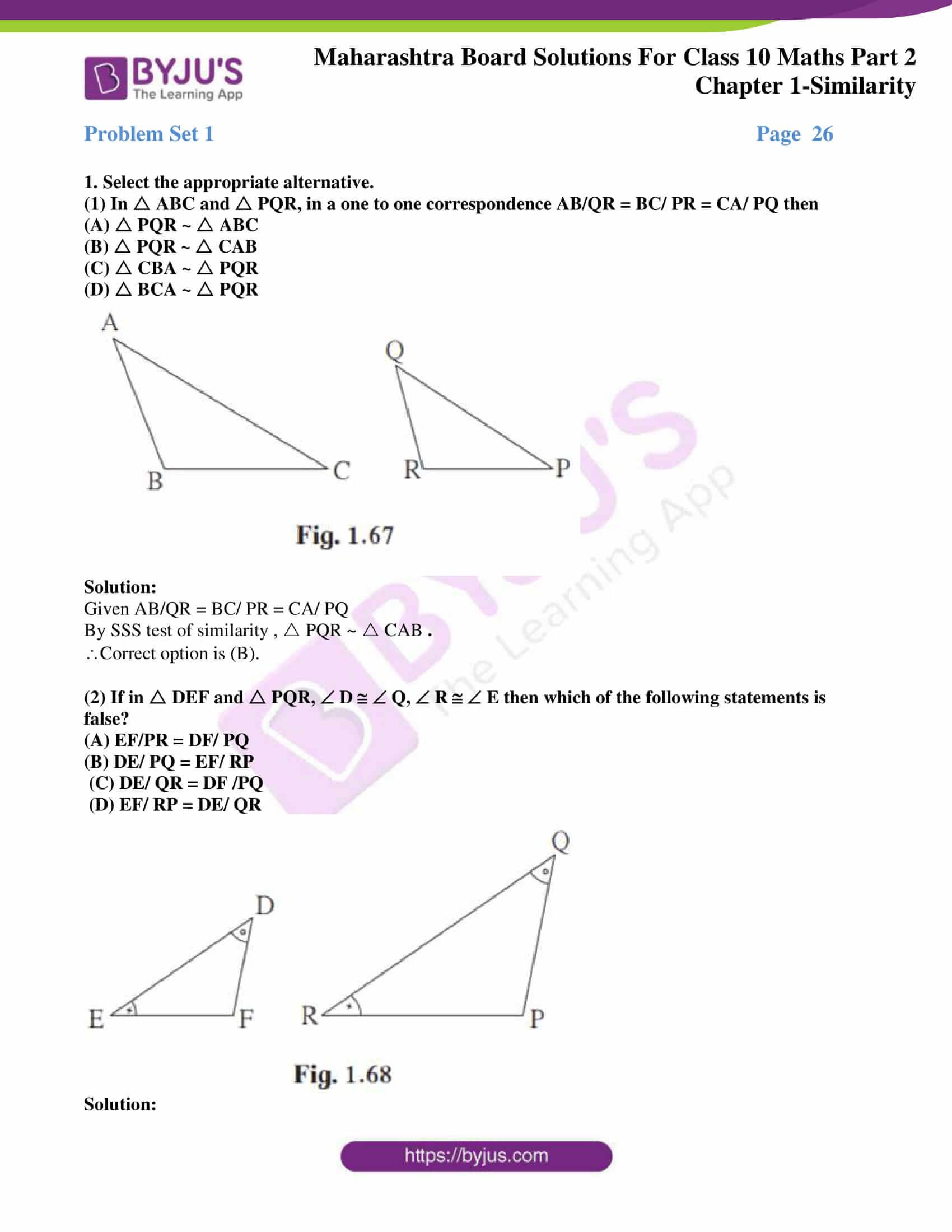 msbshse sol class 10 maths part 2 chapter 1 18