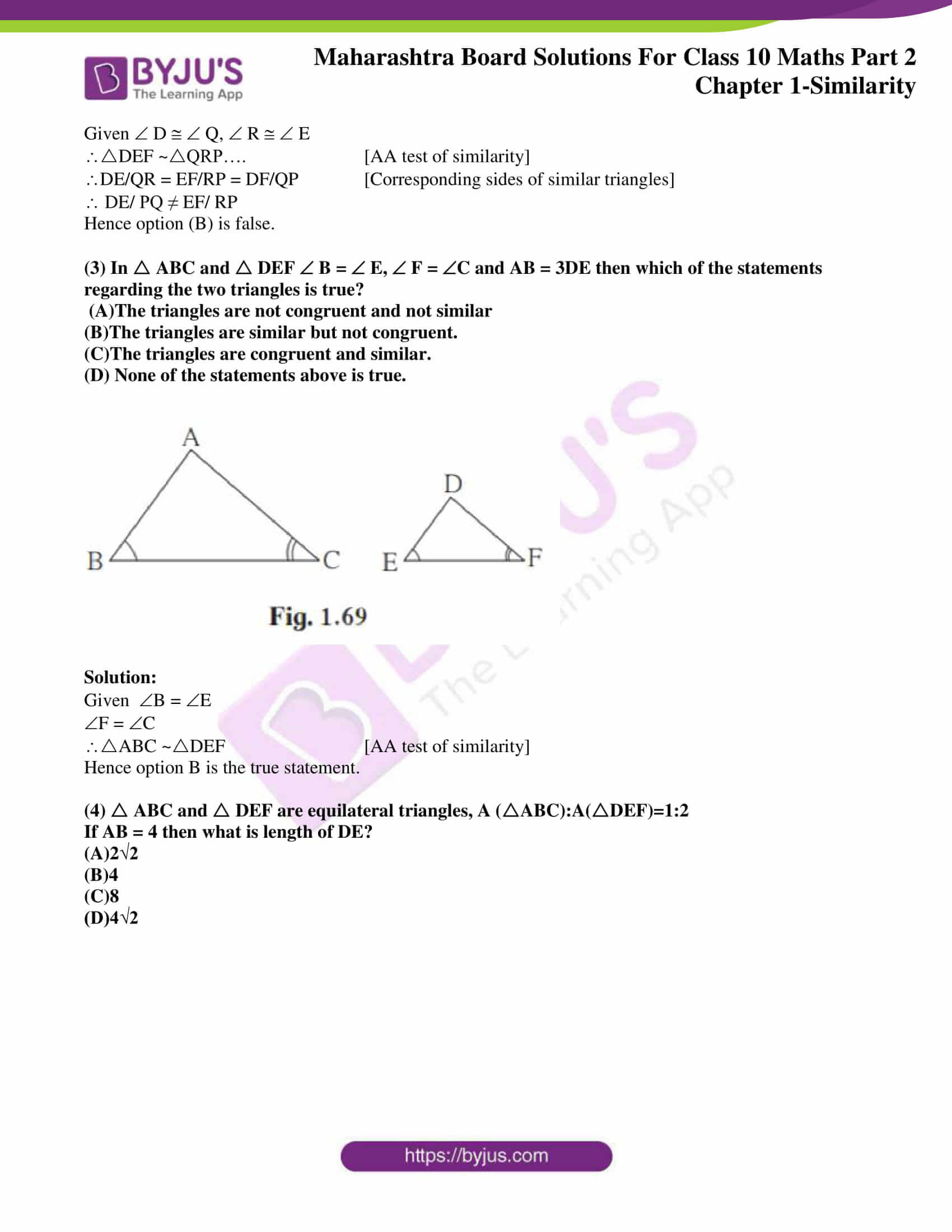 msbshse sol class 10 maths part 2 chapter 1 19