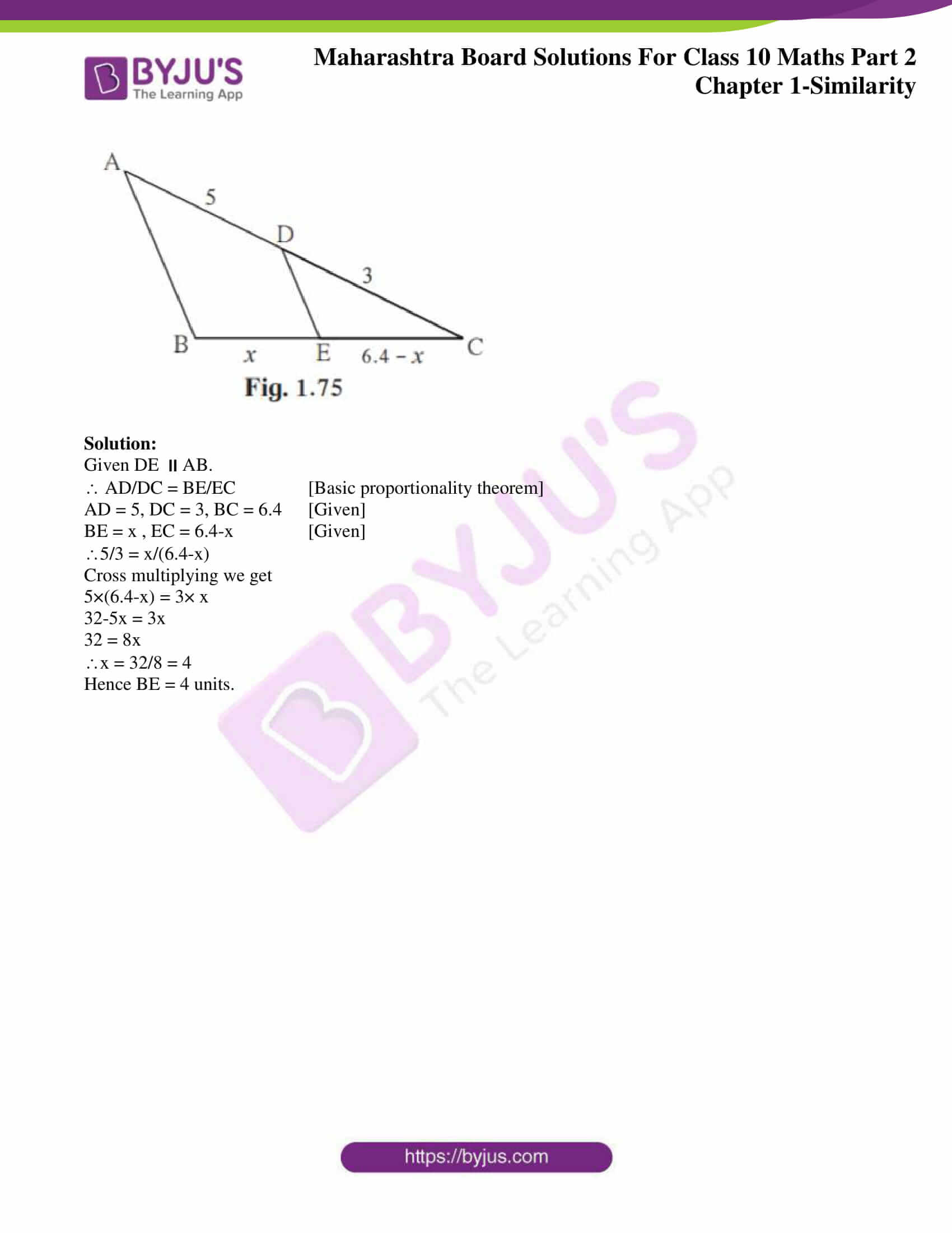 msbshse sol class 10 maths part 2 chapter 1 25
