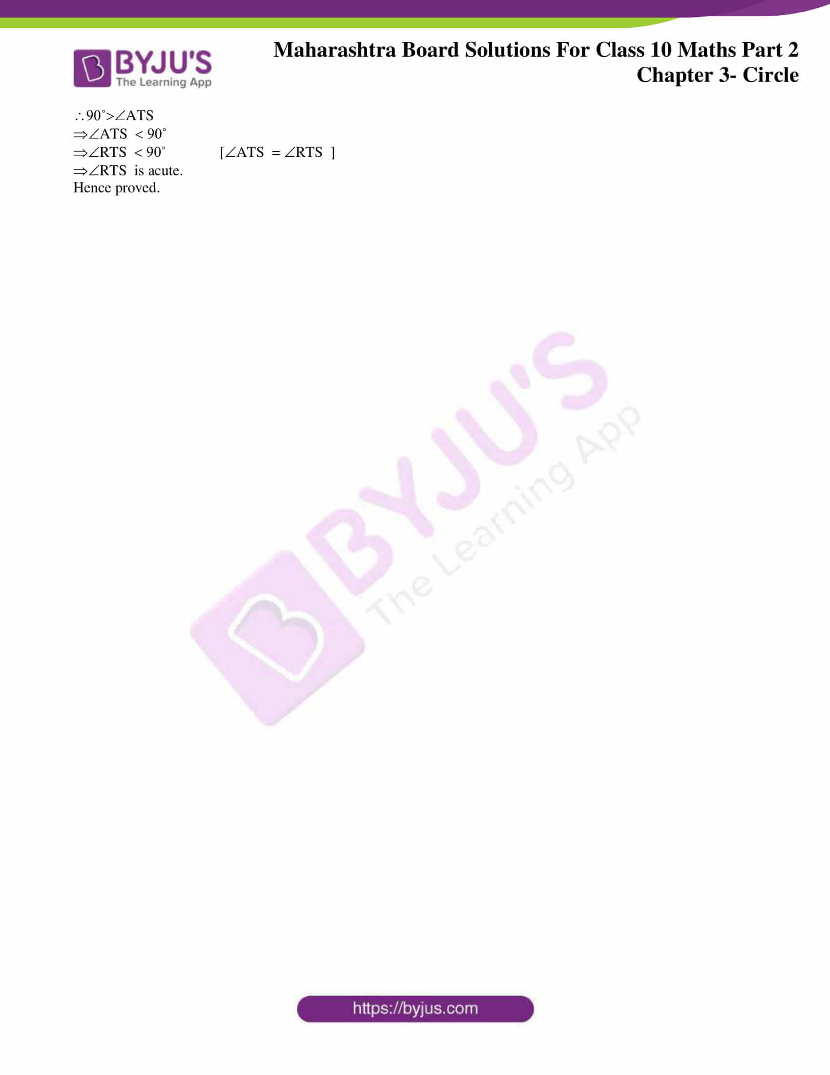 msbshse sol class 10 maths part 2 chapter 3 13