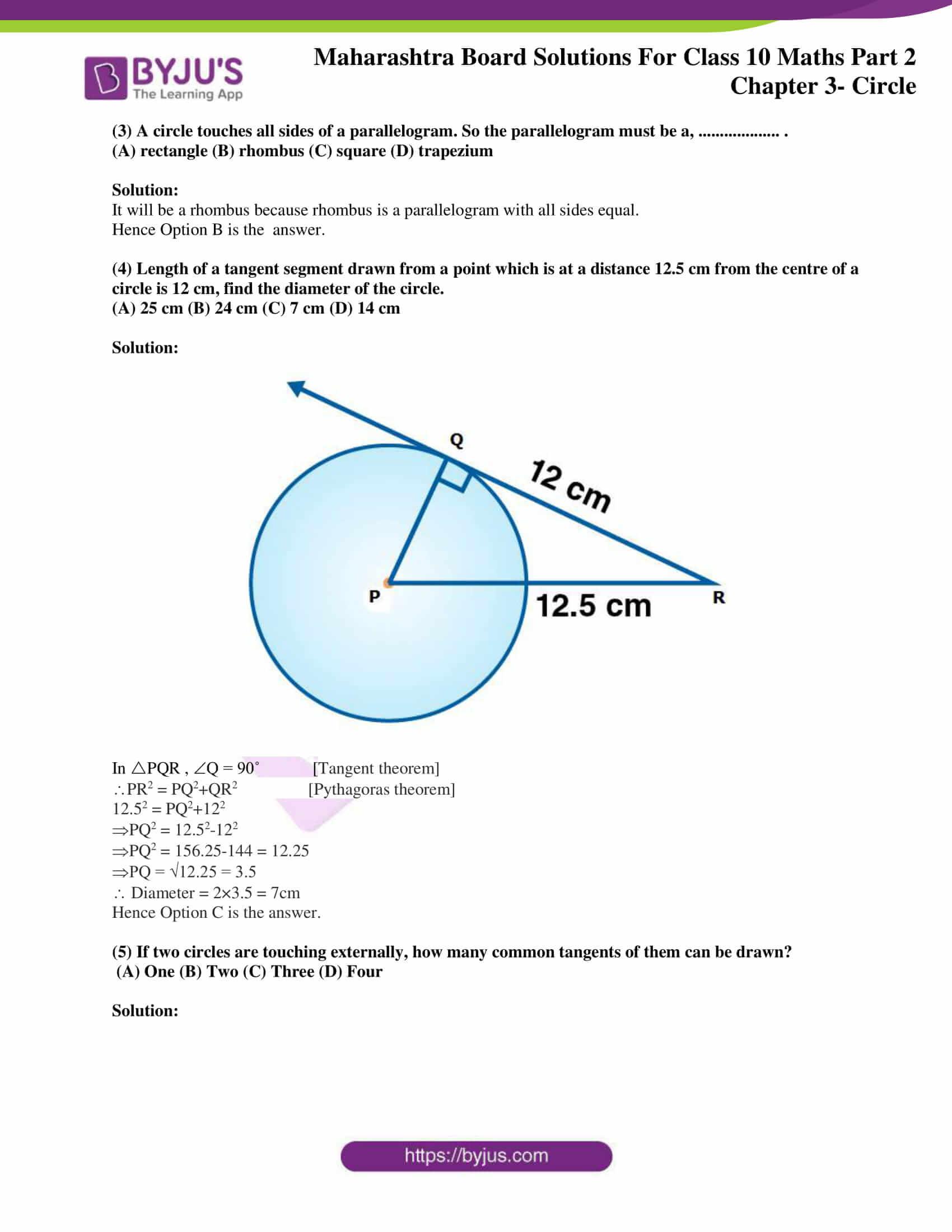 msbshse sol class 10 maths part 2 chapter 3 18