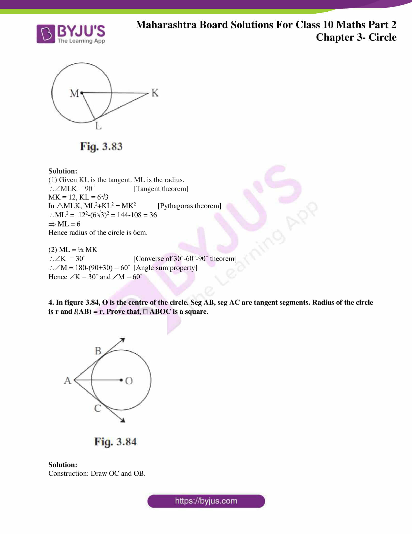 msbshse sol class 10 maths part 2 chapter 3 21