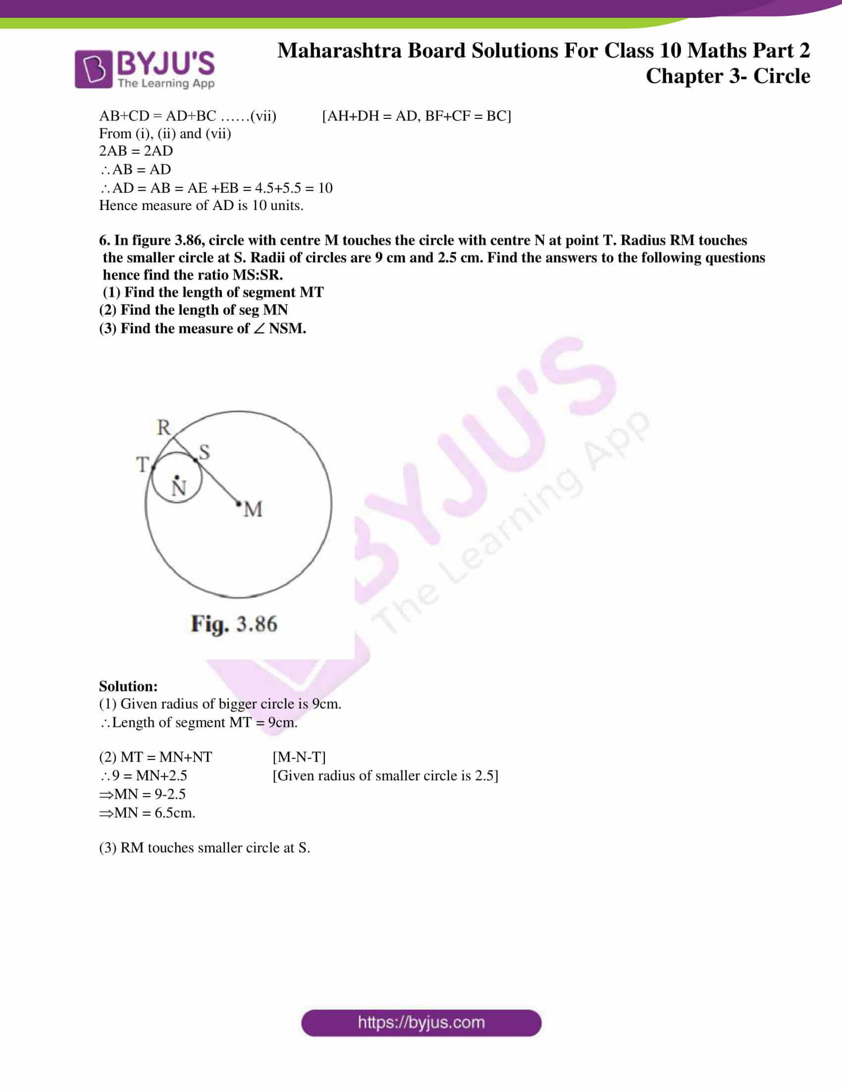 msbshse sol class 10 maths part 2 chapter 3 24