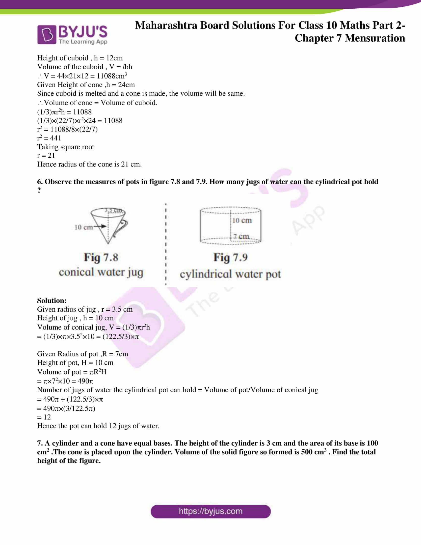 msbshse sol class 10 maths part 2 chapter 7 02