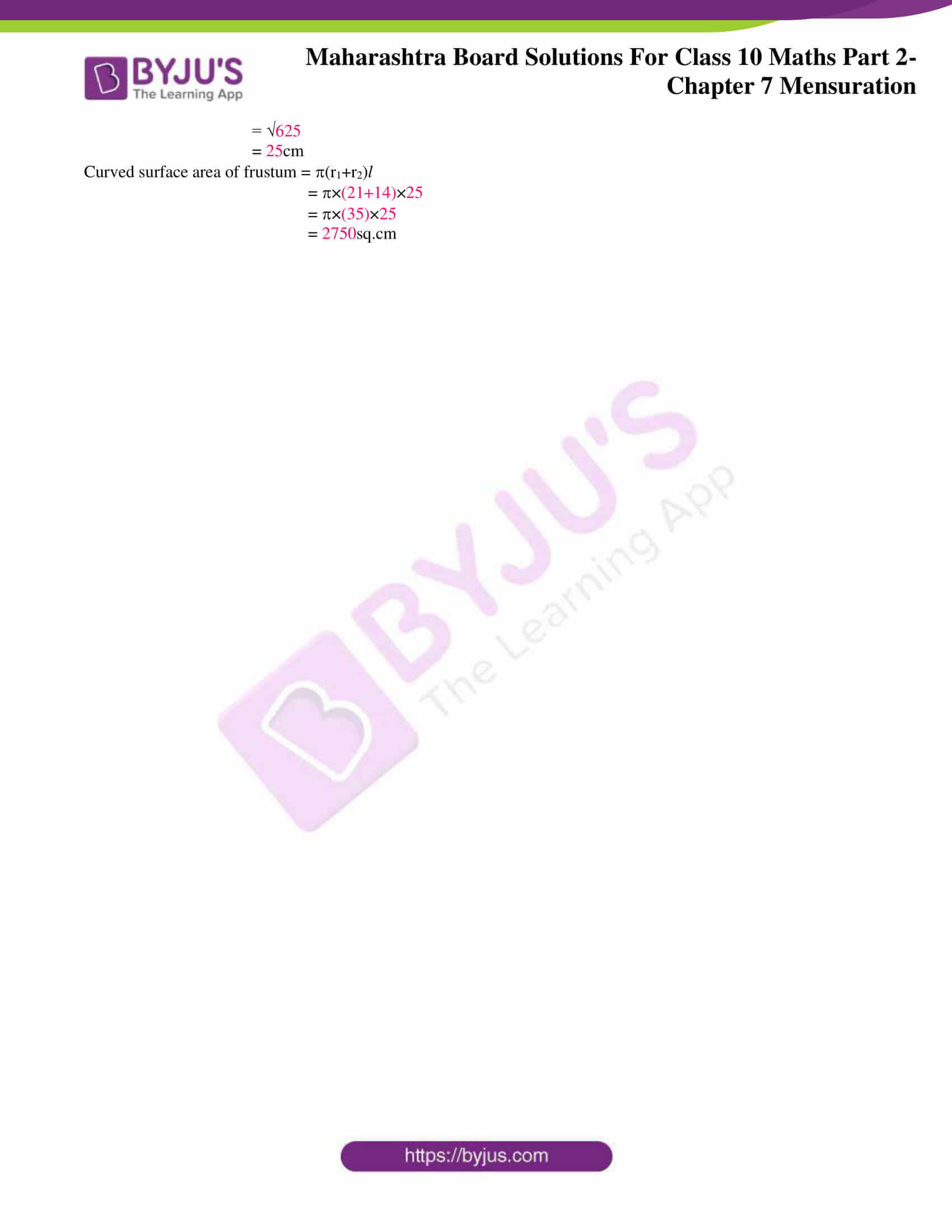 msbshse sol class 10 maths part 2 chapter 7 10