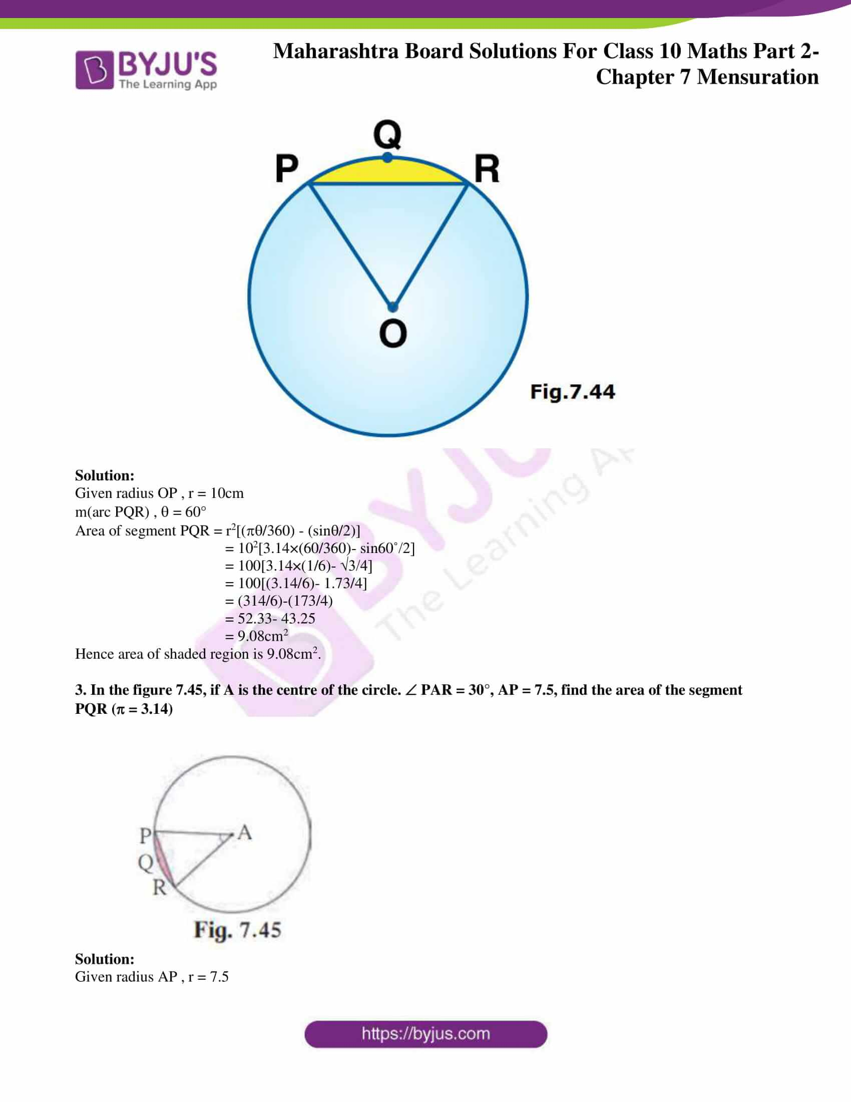 msbshse sol class 10 maths part 2 chapter 7 19