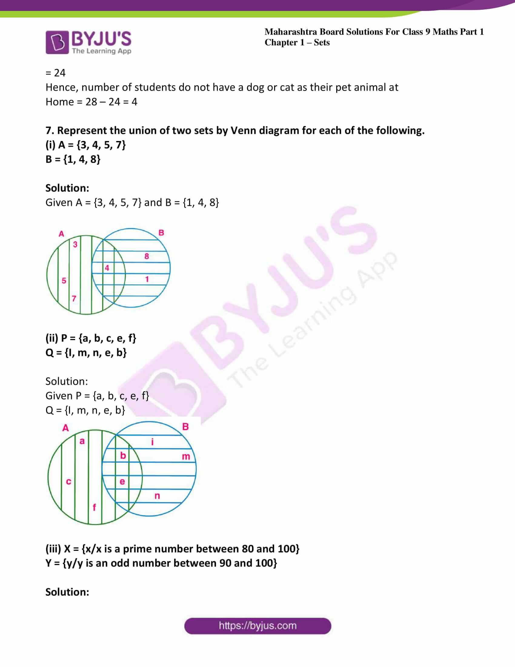 msbshse sol class 9 maths part 1 chapter 1 sets 23
