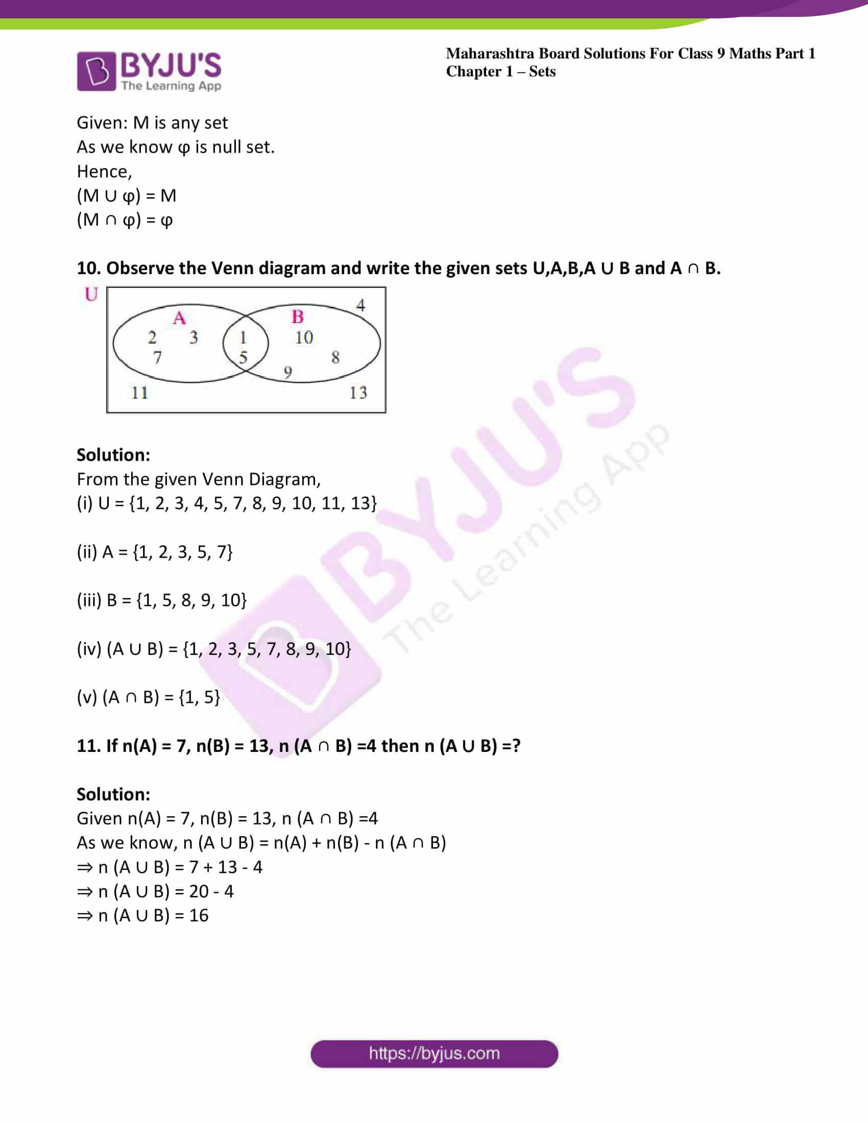 msbshse sol class 9 maths part 1 chapter 1 sets 25