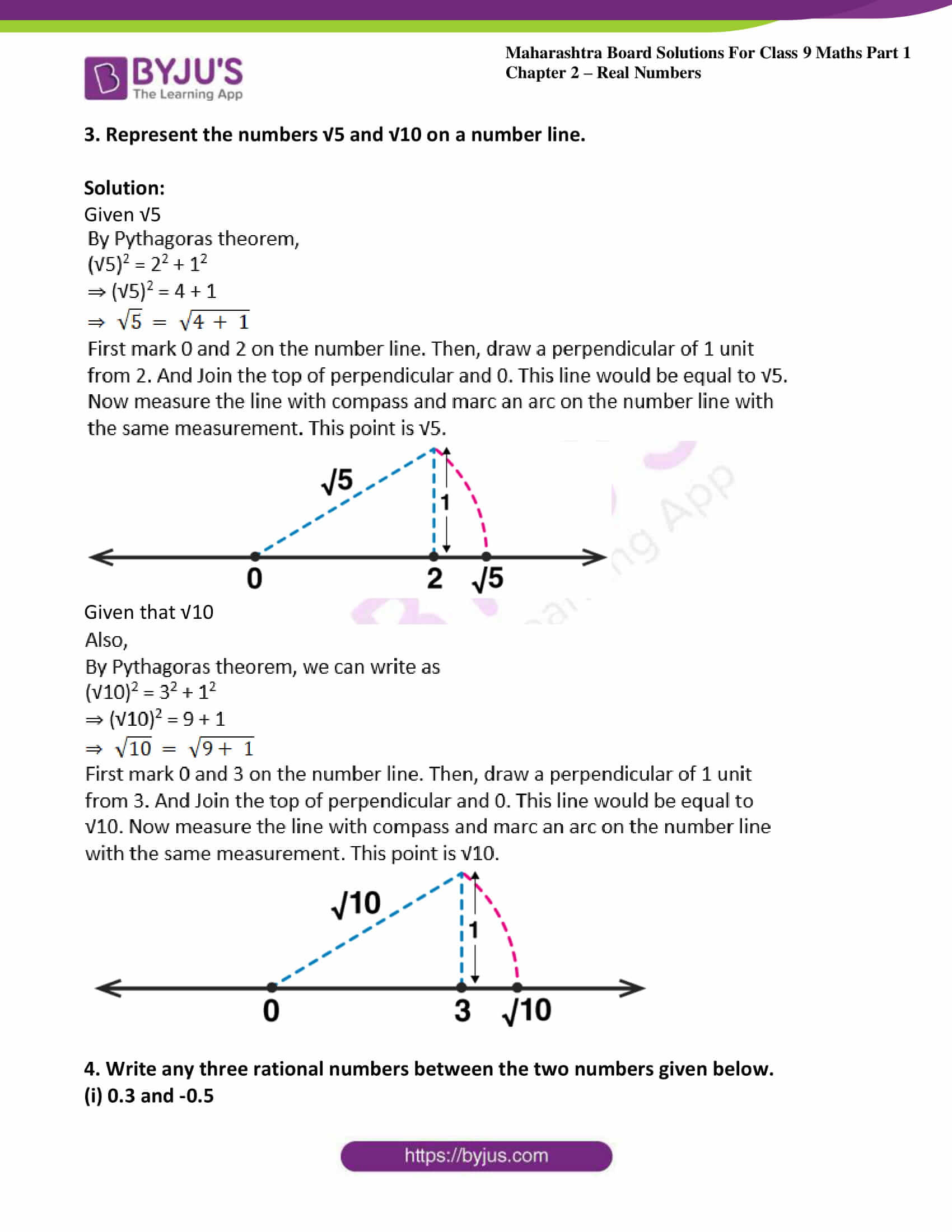 msbshse sol class 9 maths part 1 chapter 2 real numbers 06