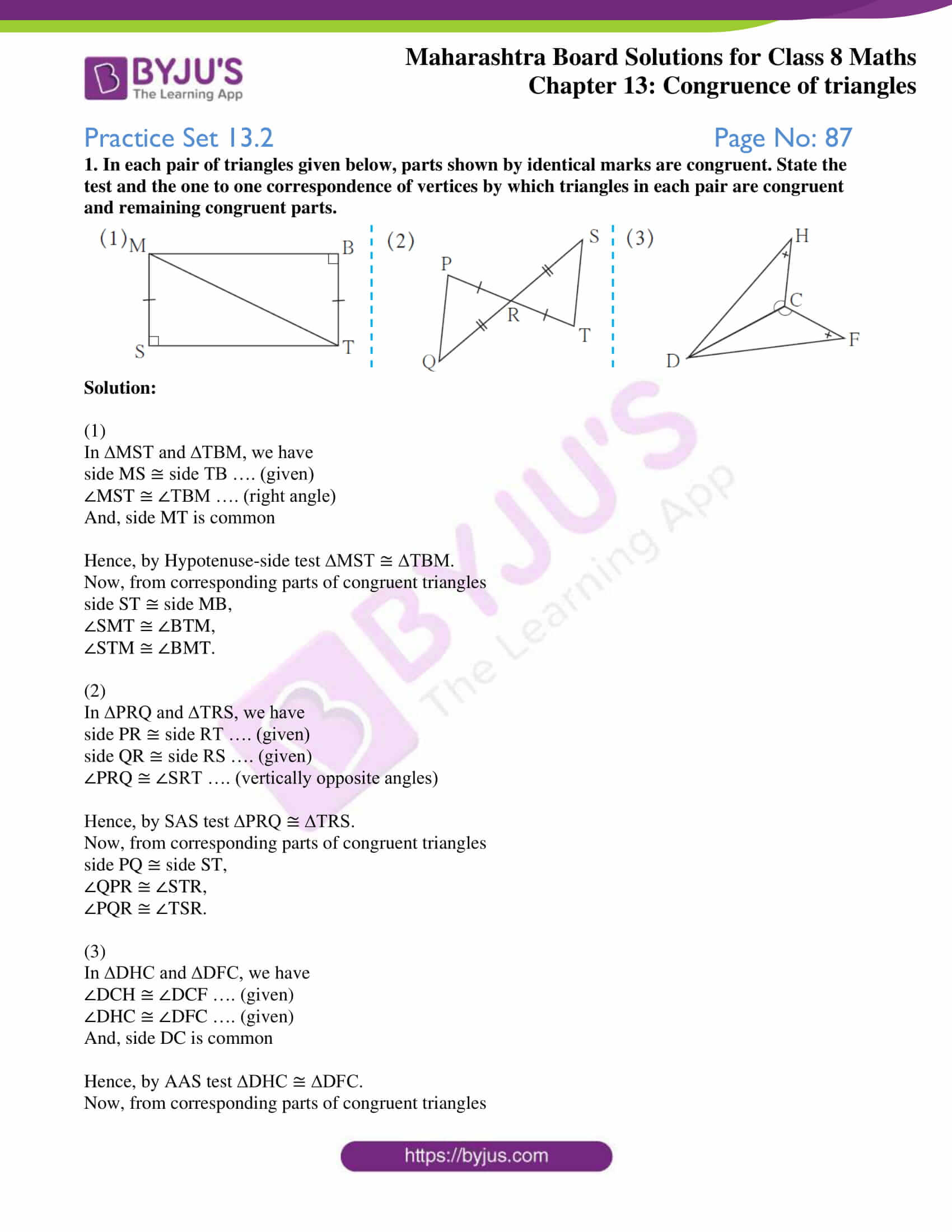 msbshse sol for class 8 maths chapter 13 2