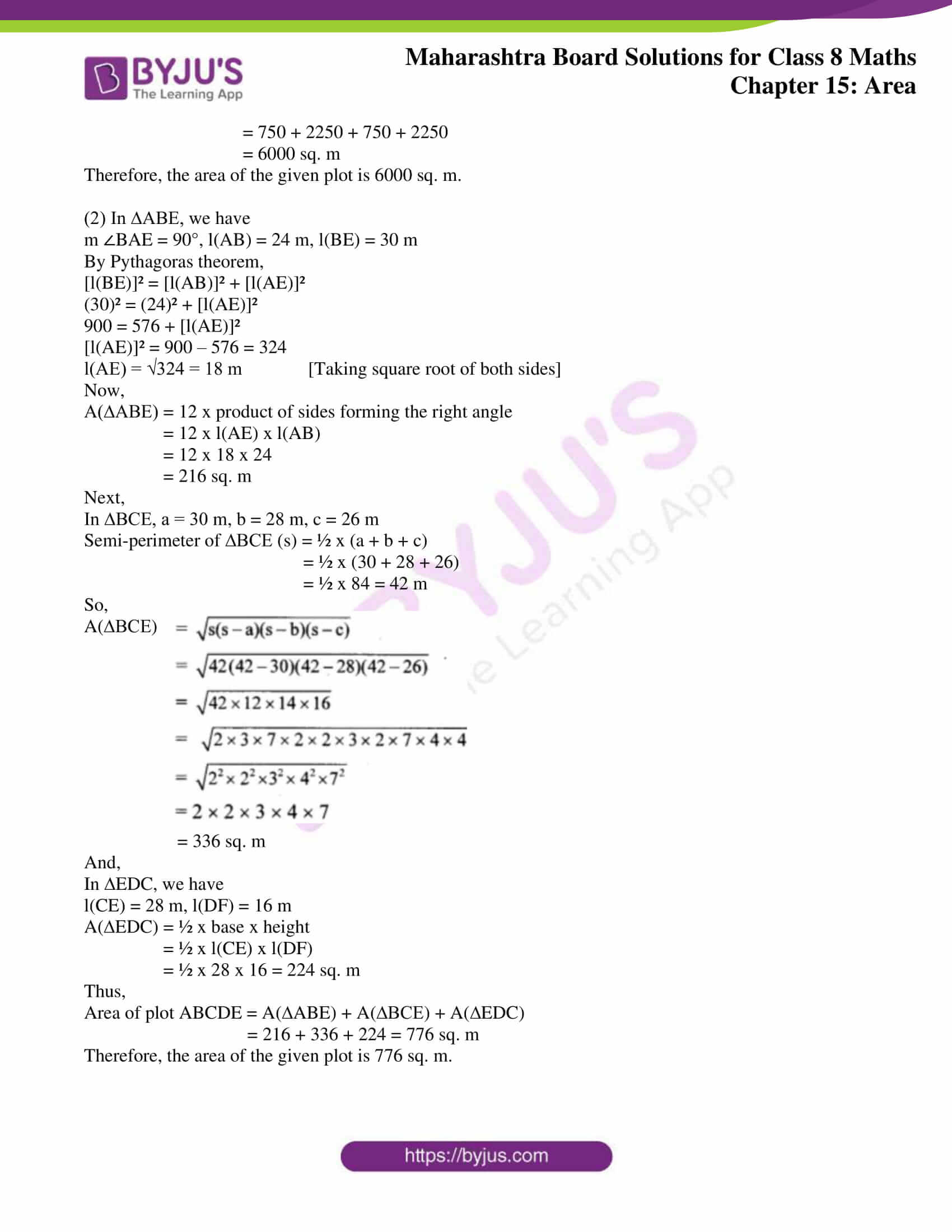msbshse sol for class 8 maths chapter 15 10